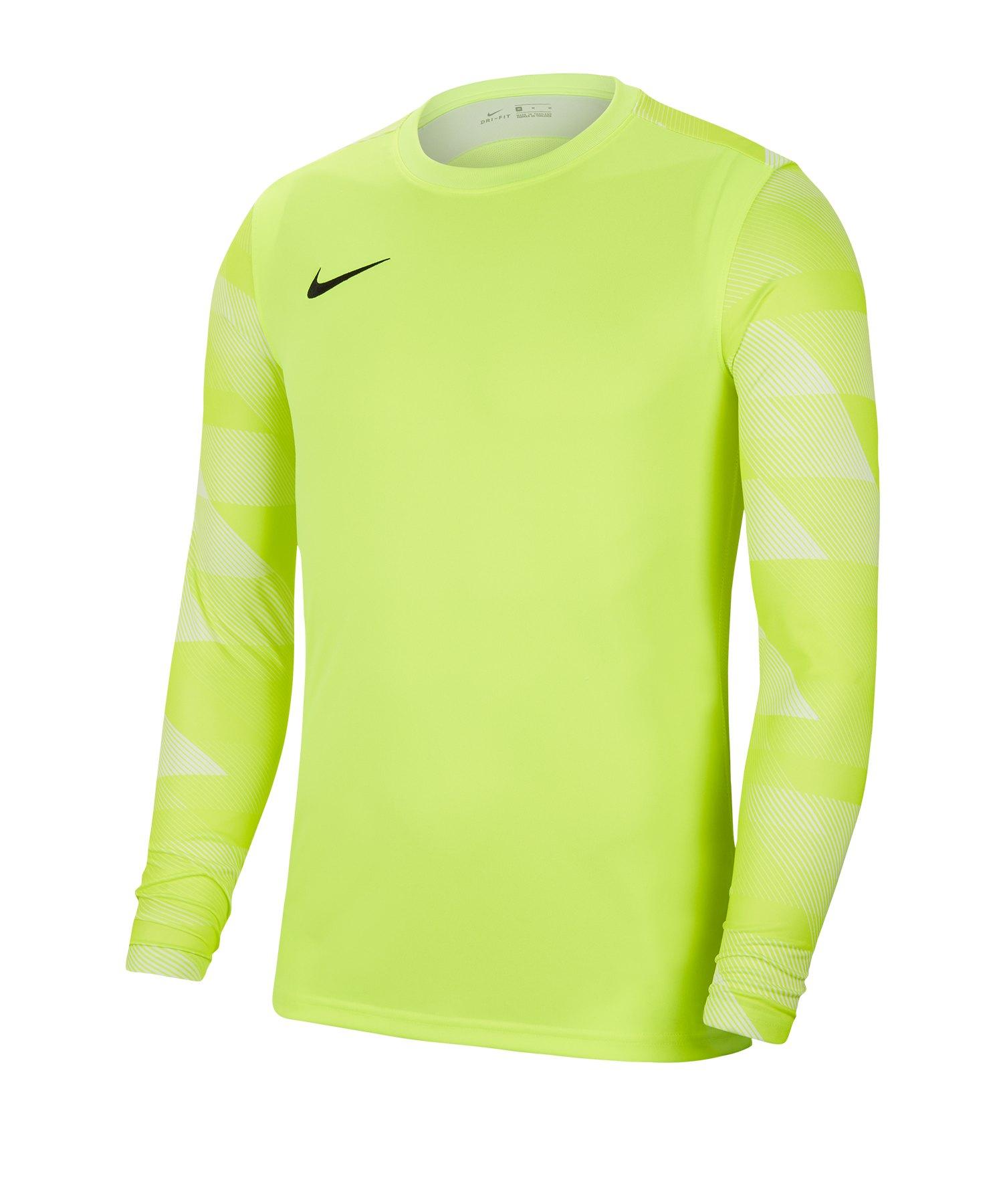Nike Park IV TW-Trikot langarm Gelb F702 - gelb