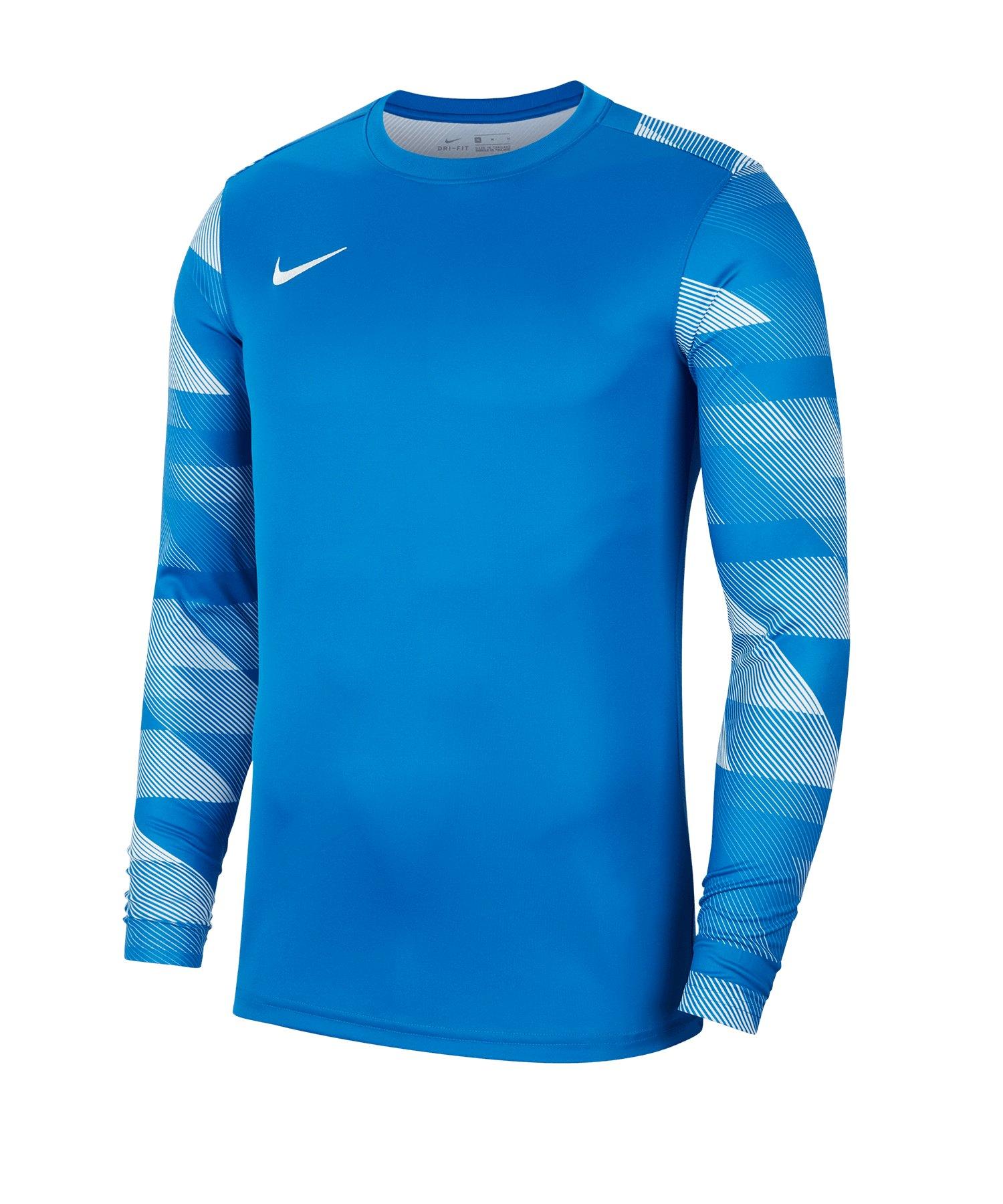 Nike Park IV TW-Trikot langarm Kids Blau F463 - blau
