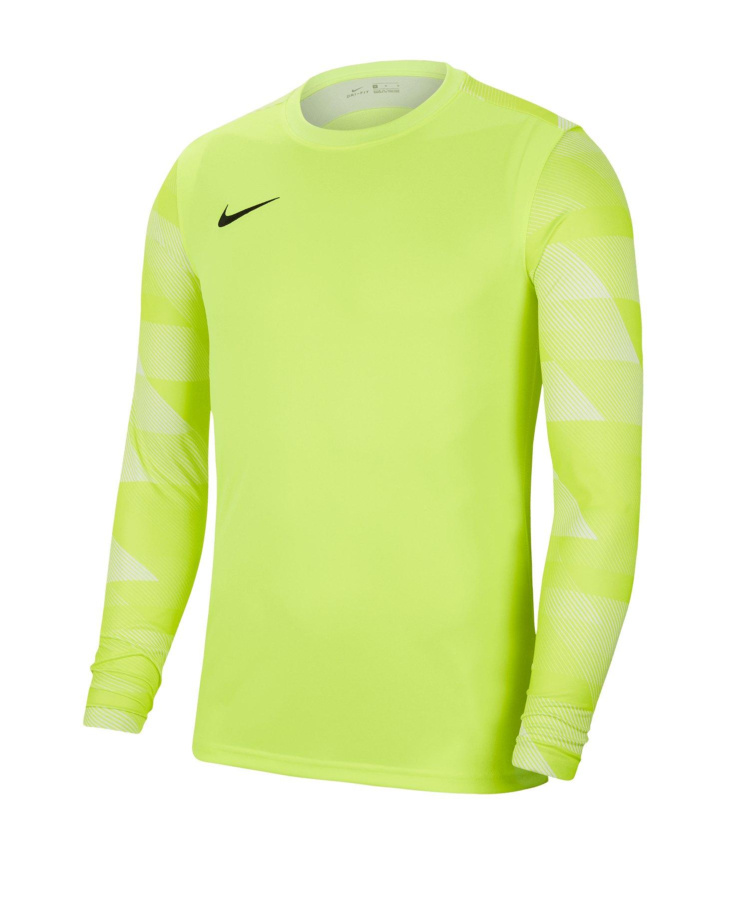 Nike Park IV TW-Trikot langarm Kids Gelb F702 - gelb
