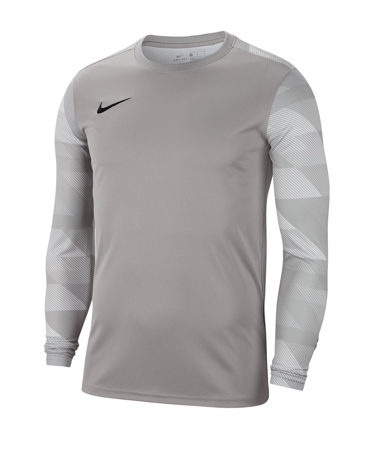 Nike Park IV TW-Trikot langarm Kids Grau F052 - grau