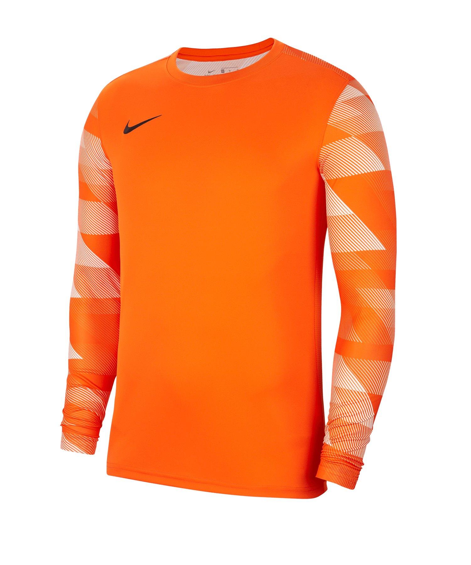 Nike Park IV TW-Trikot langarm Kids Orange F819 - orange