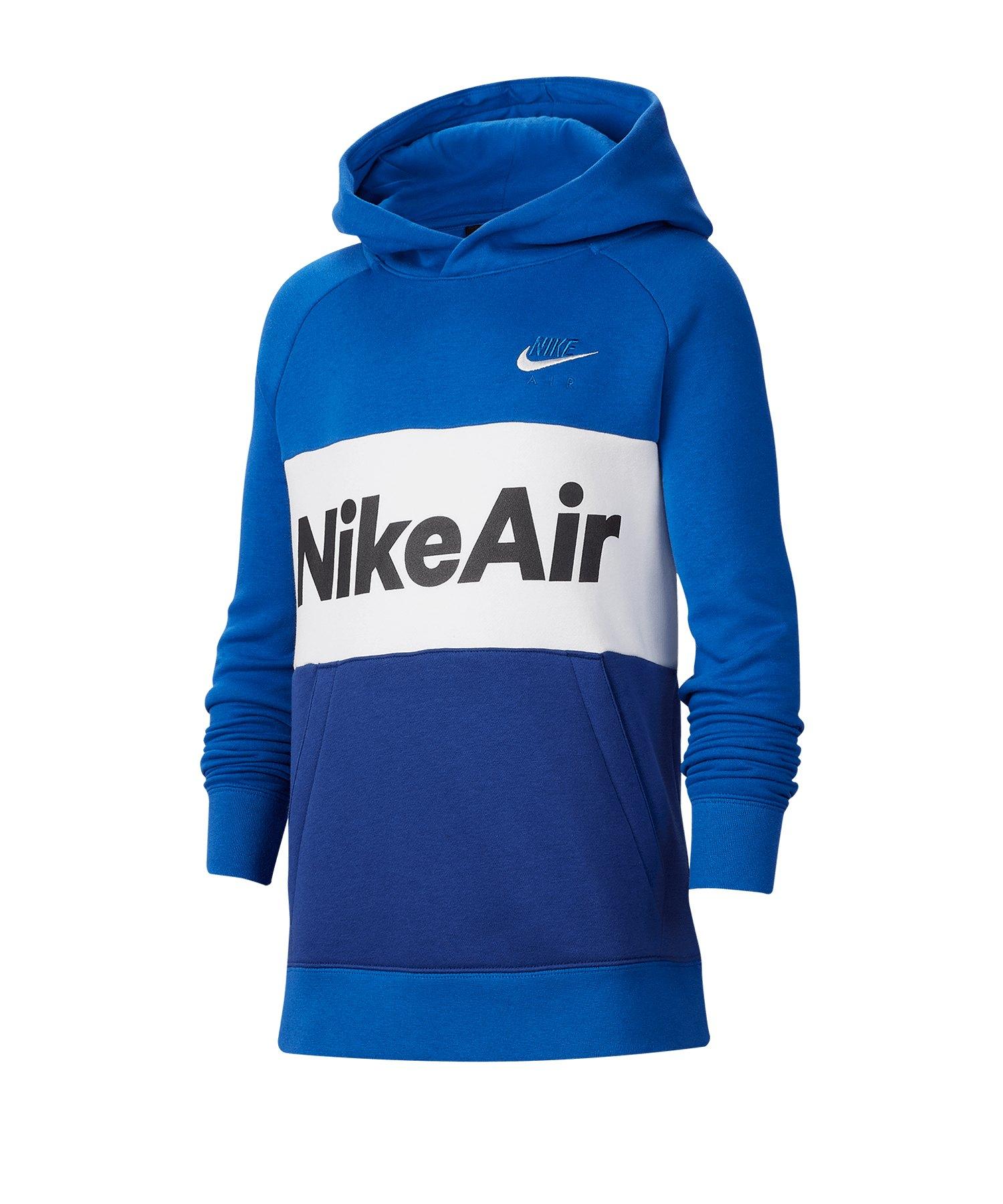 Nike Air Hoody Kapuzenpullover Kids Blau F480 - blau
