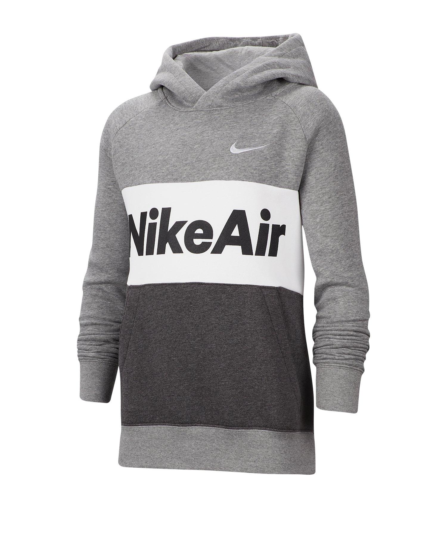 Nike Air Hoody Kapuzenpullover Kids Grau F063 - grau