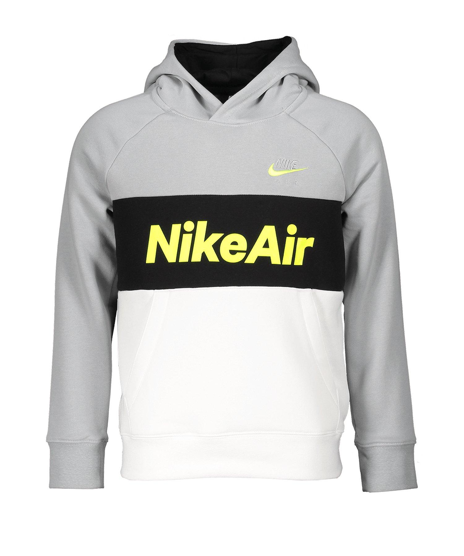 Nike Air Hoody Kapuzenpullover Kids Grau F077 - grau