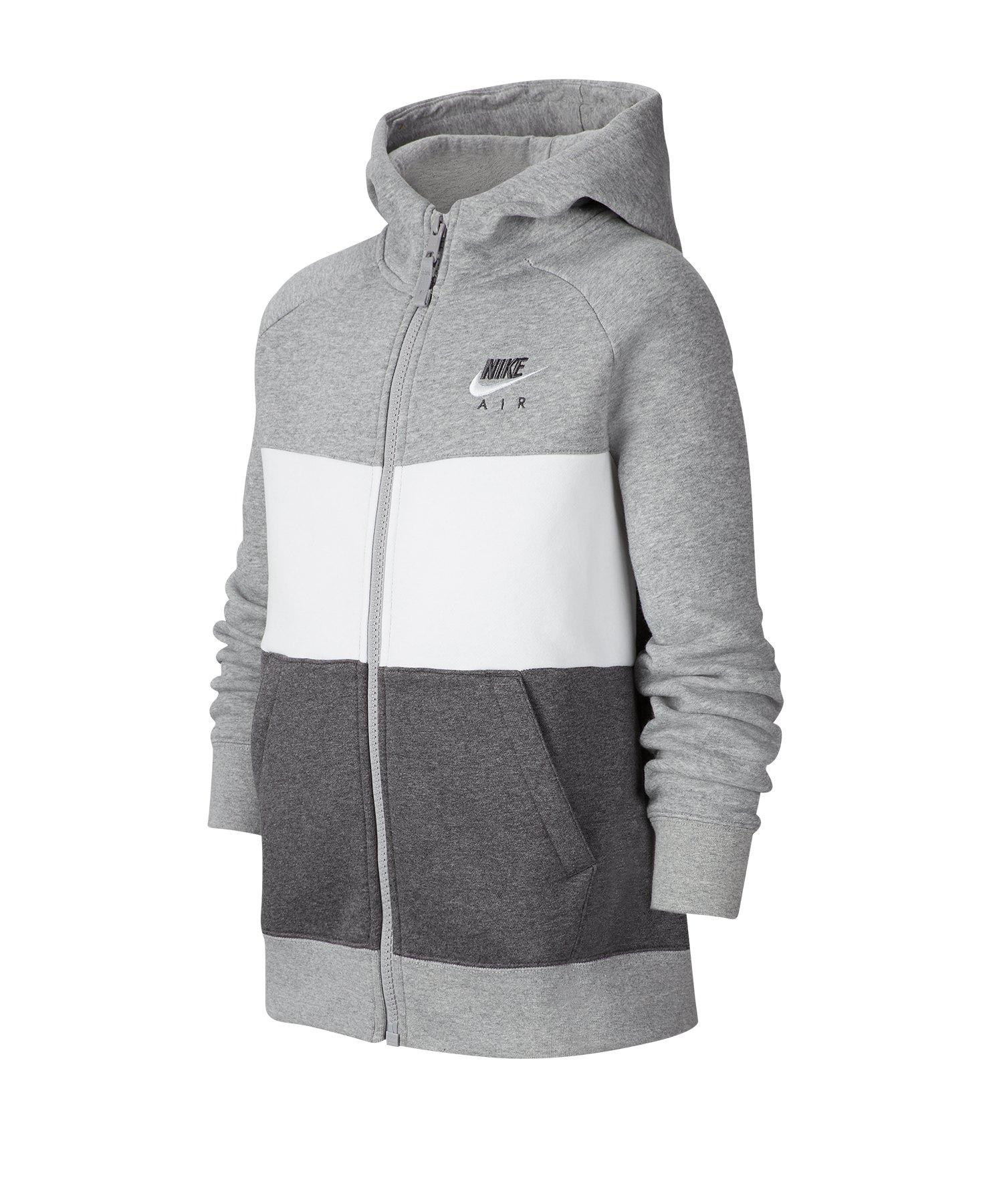 Nike Air Kapuzenjacke Kids Grau F063 - grau