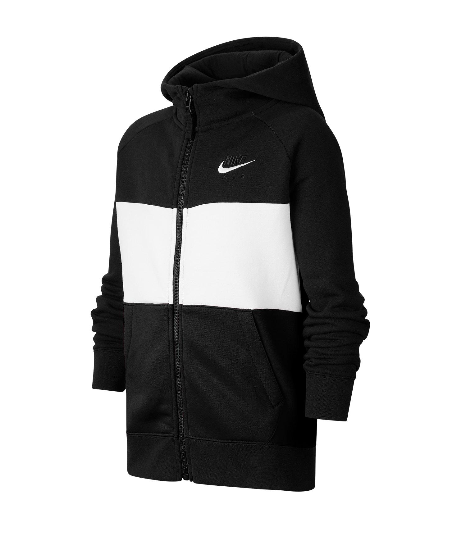 Nike Air Kapuzenjacke Kids Schwarz F010 - schwarz