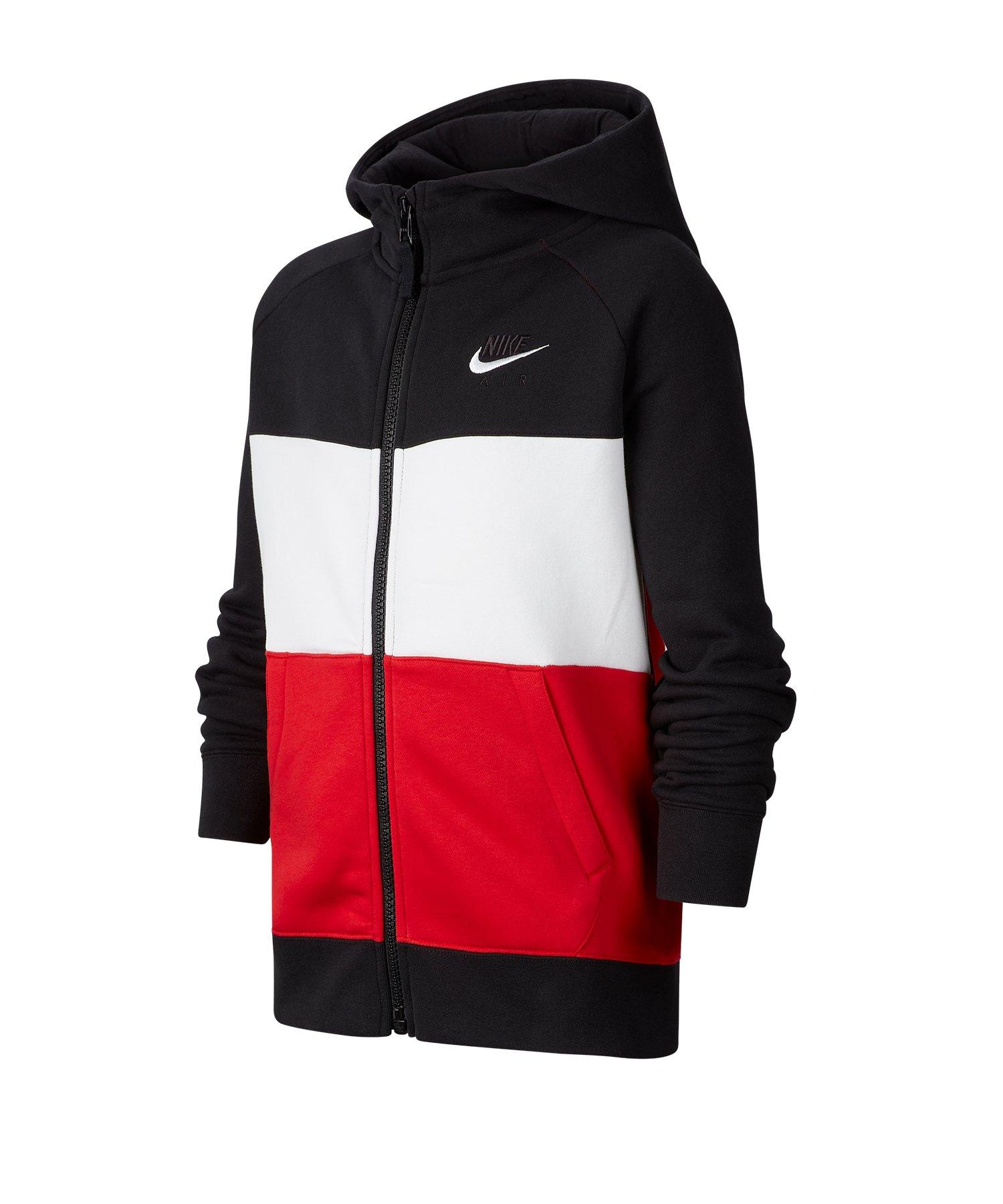 Nike Air Kapuzenjacke Kids Schwarz F011 - schwarz