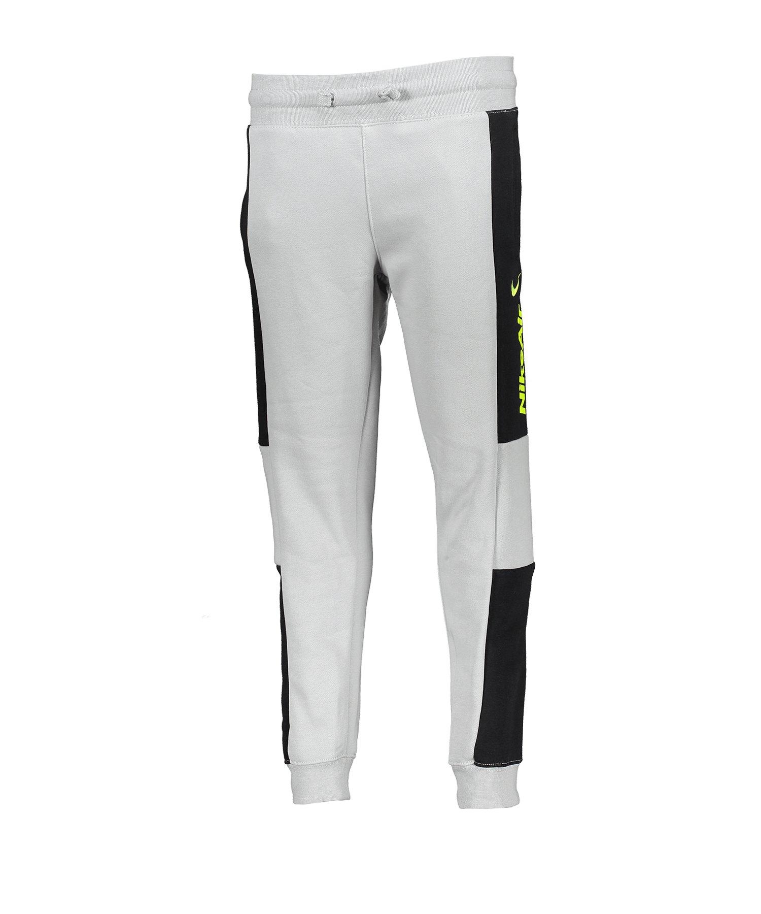 Nike Air Pants Hose lang Kids Grau F077 - grau