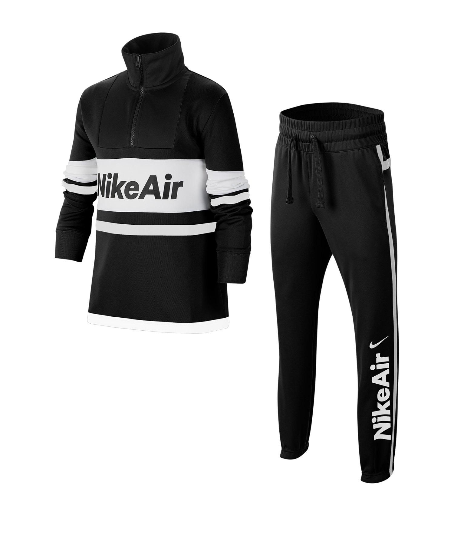 Nike Air Tracksuit Trainingsanzug Kids F010 - schwarz
