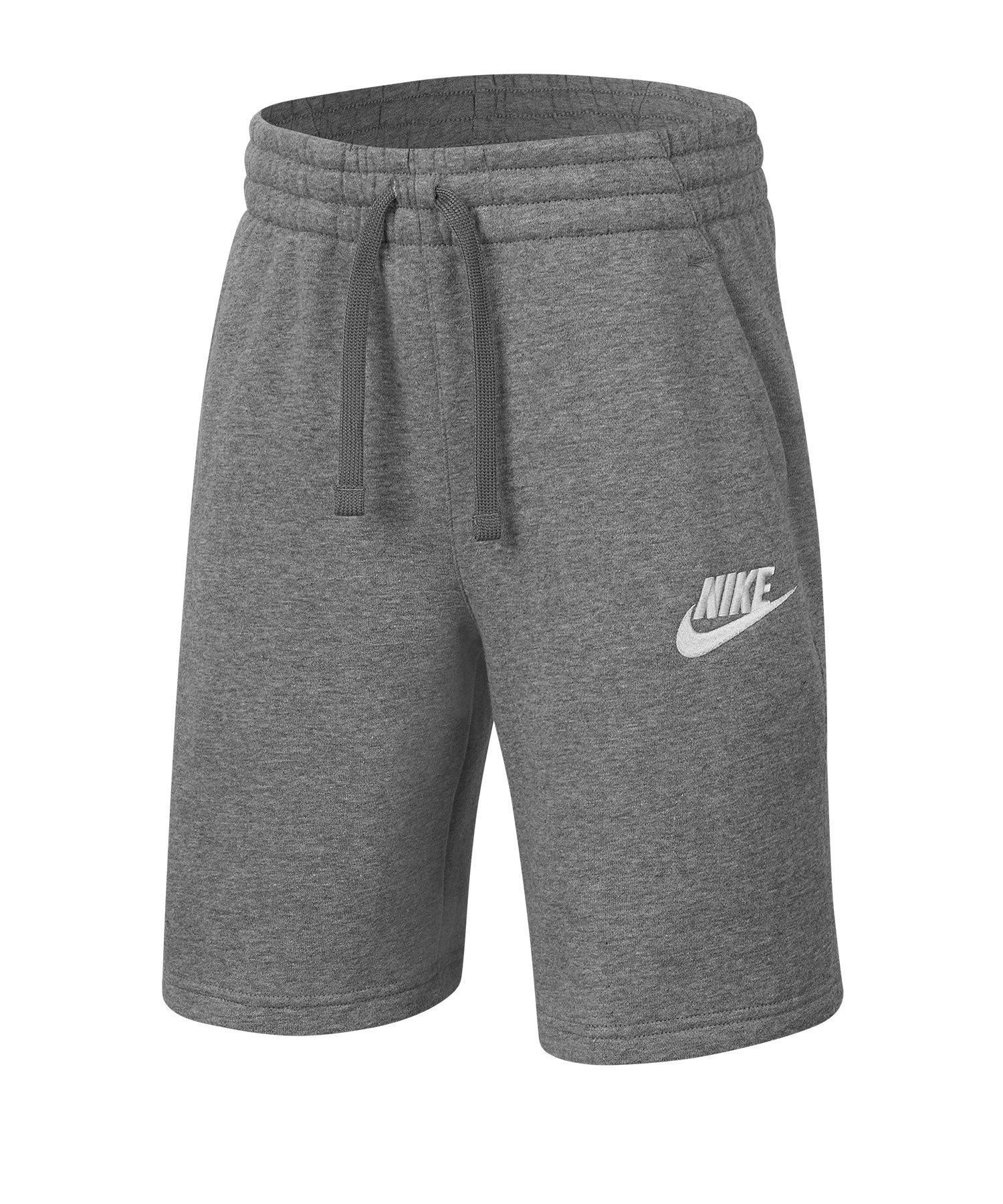 Nike Club Fleece Short Grau F091 - grau