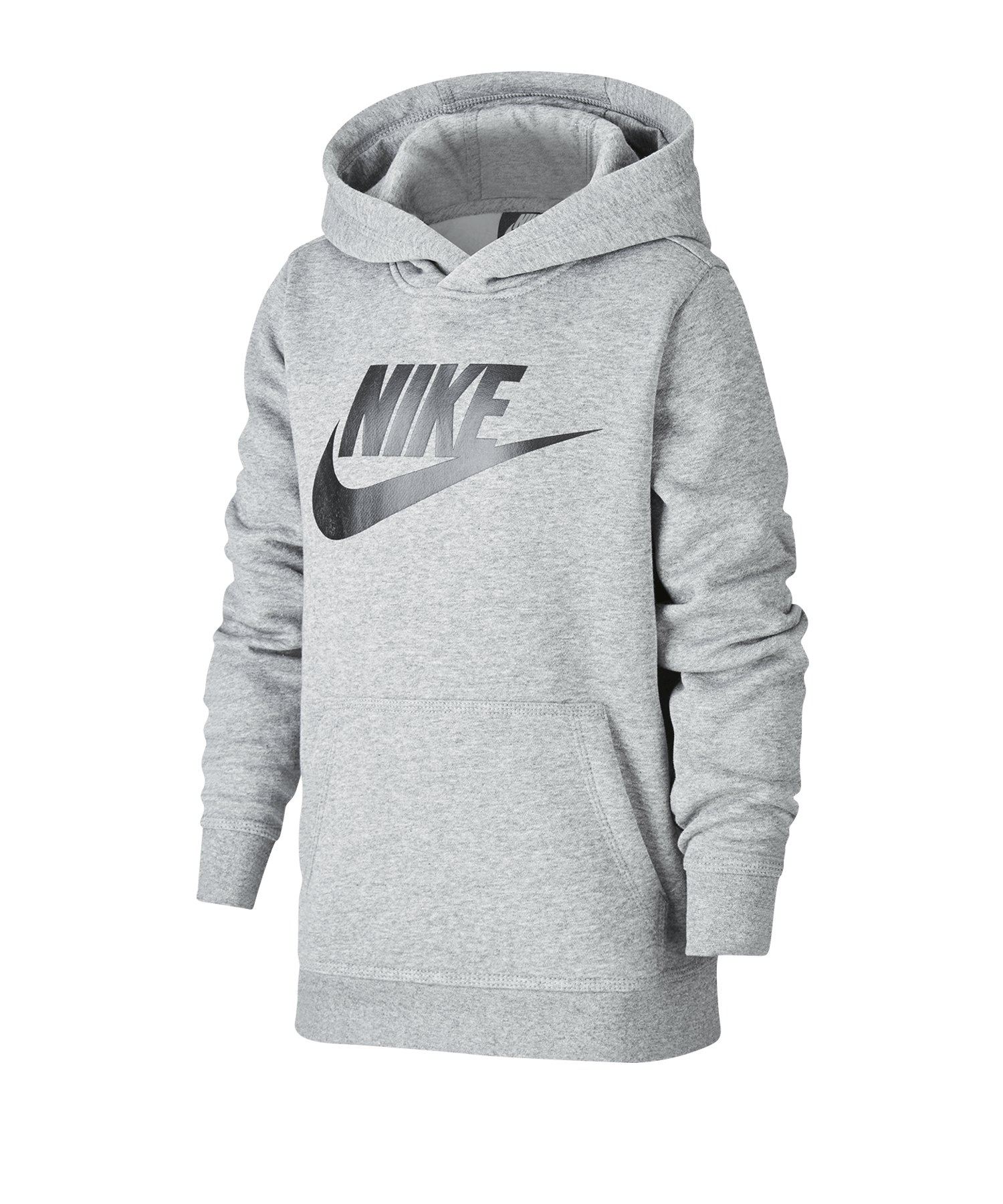 Nike Club Fleece Hoody Kapuzenpullover Kids F092 - rot
