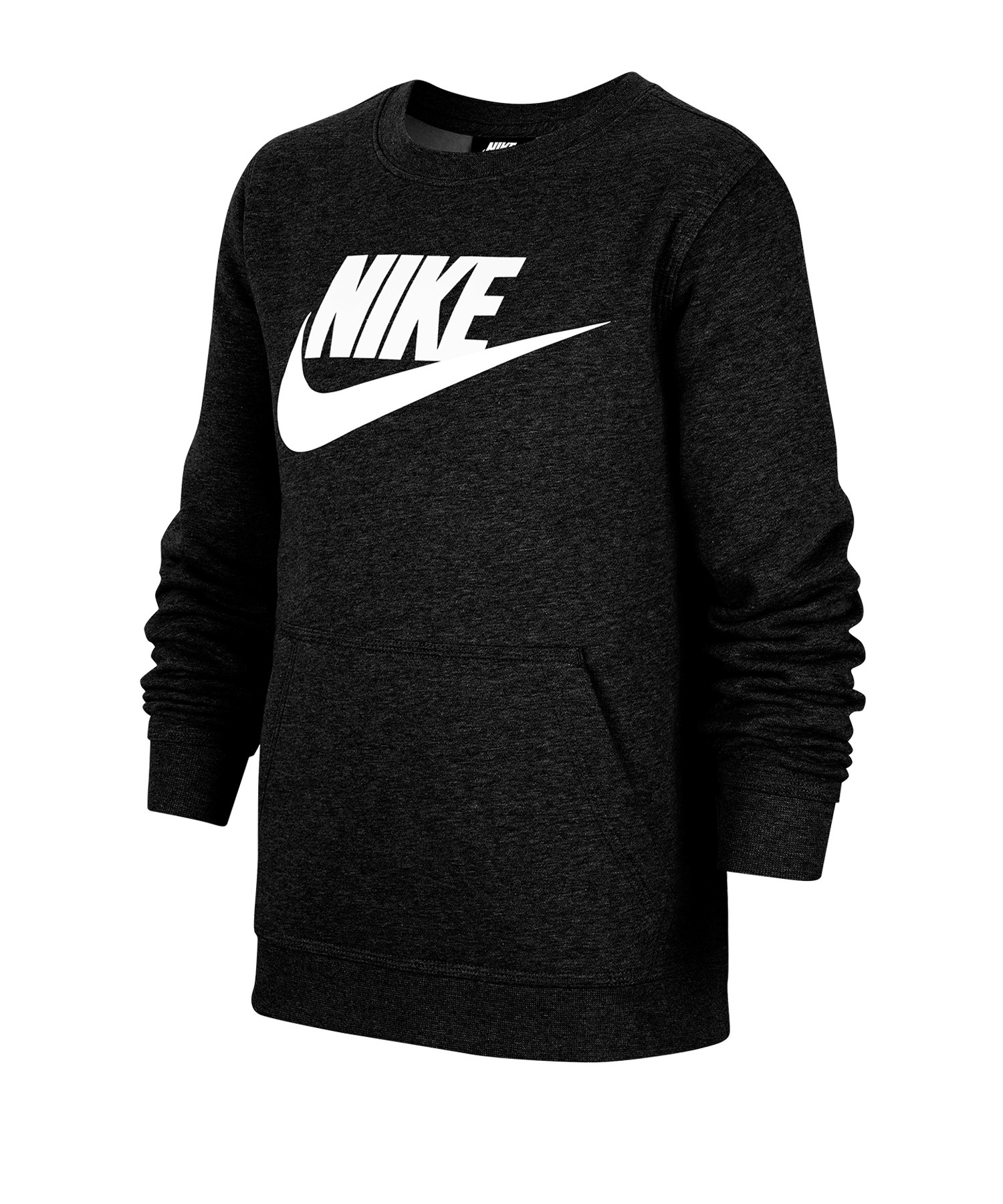 Nike Club Fleece Sweatshirt Kids F011 - schwarz