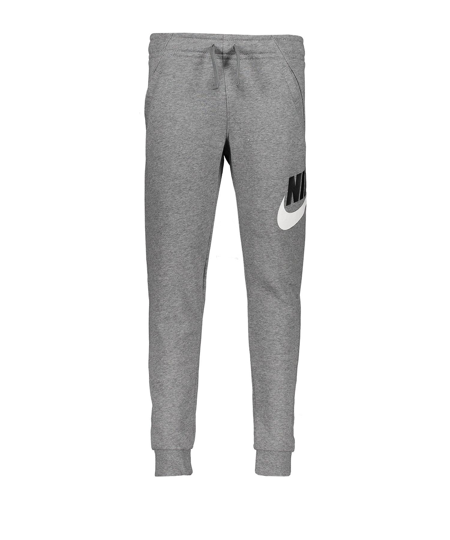 Nike Club Fleece Pants Hose lang Kids Grau F091 - grau