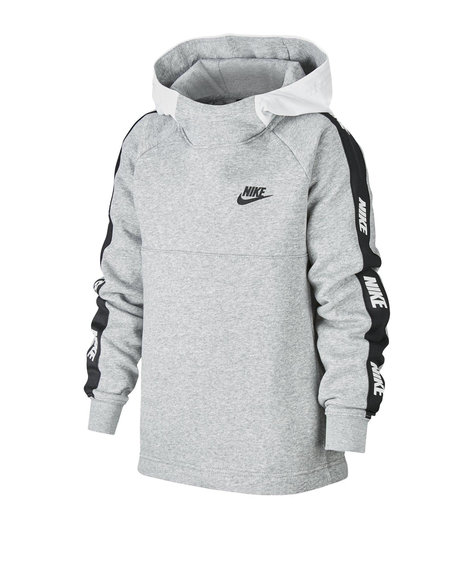 Nike 1/2-Zip Hoody Kids Weiss F100 - weiss