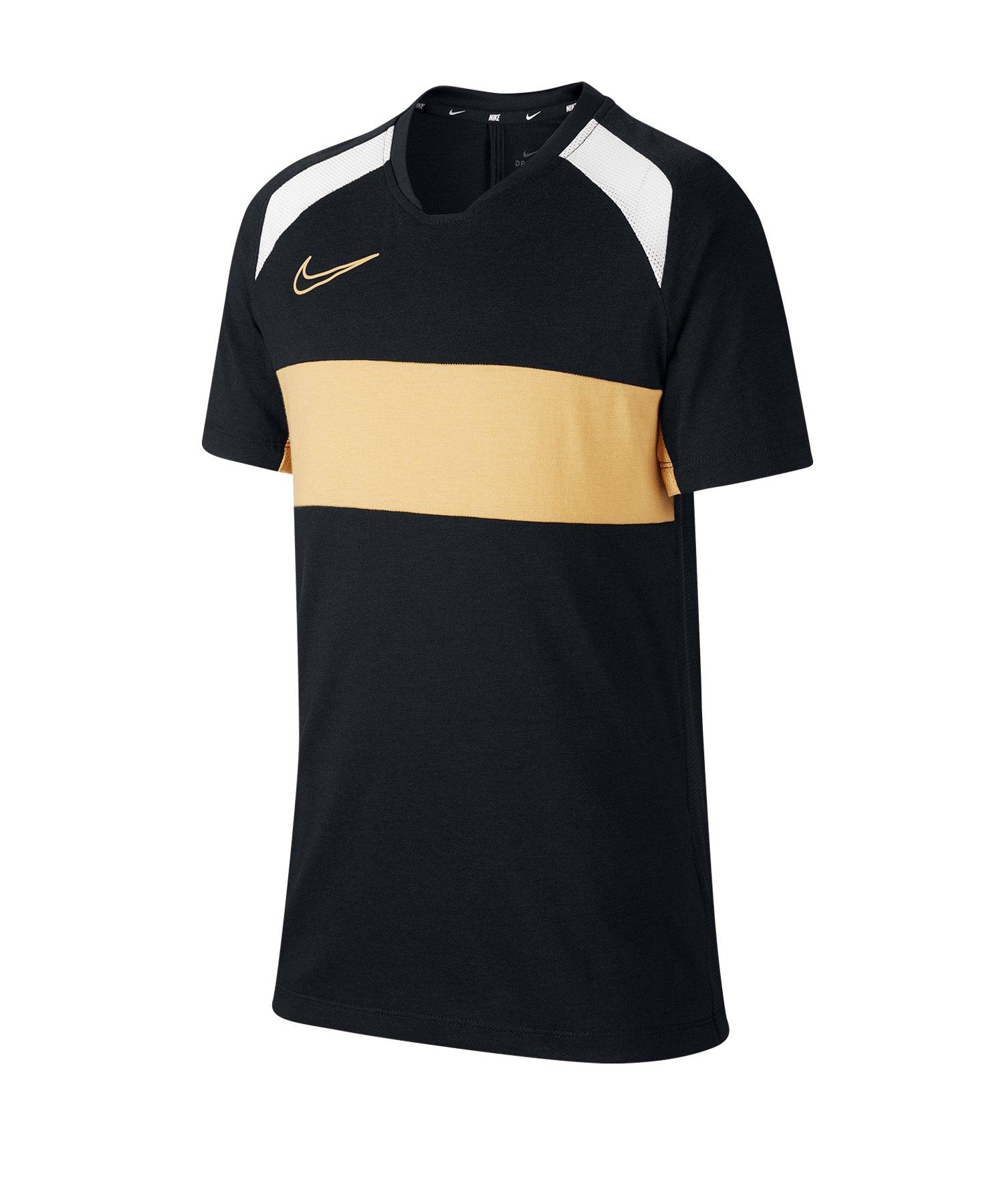 Nike Academy Trainingstop kurzarm Kids F010 - schwarz