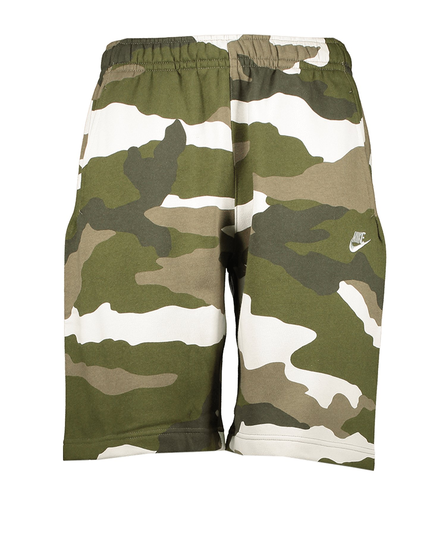 Nike Club Fleece Camo Shorts Braun F223 - braun