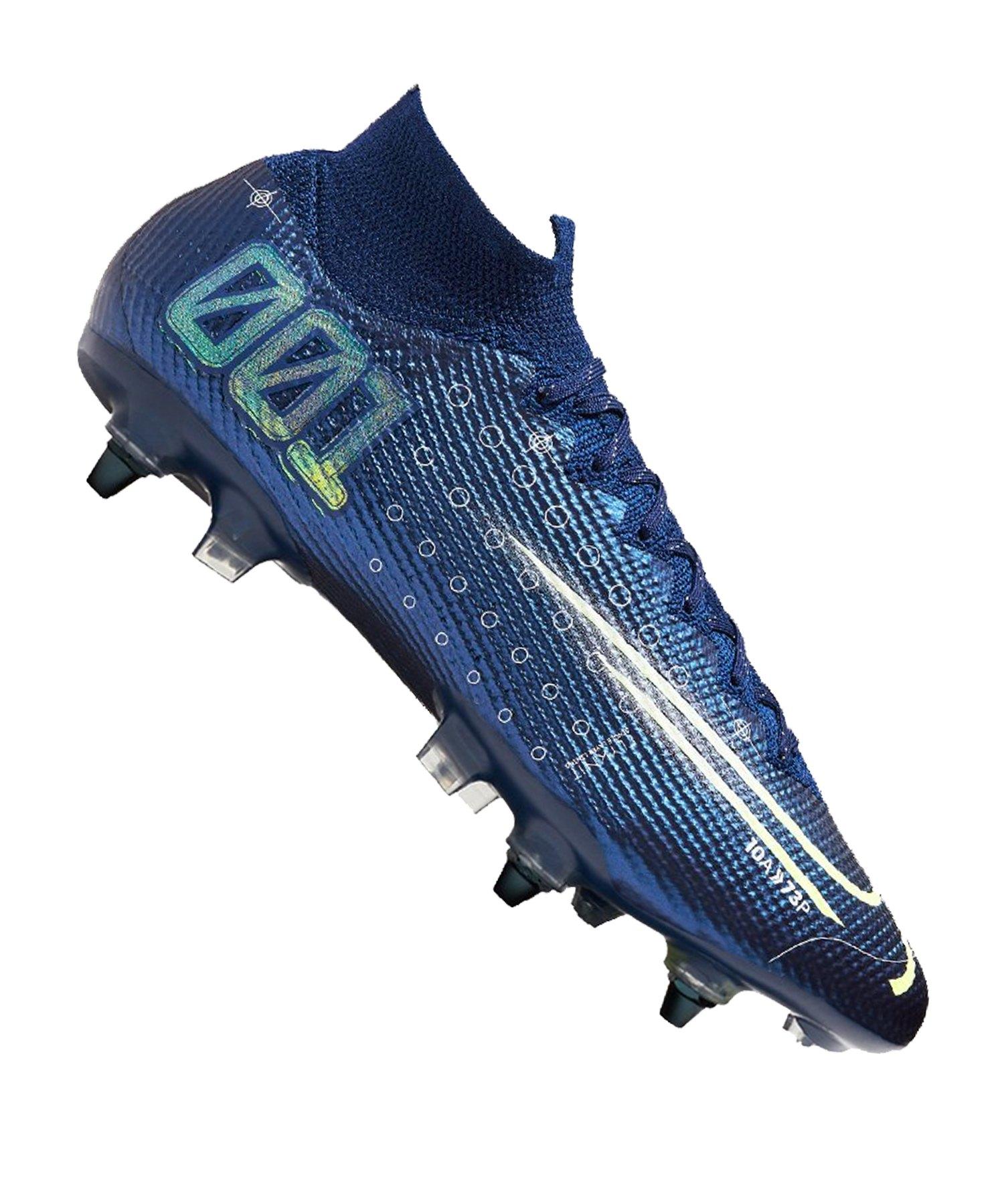 Nike Mercurial Superfly VII Dreamspeed Elite SG-Pro Blau F401 - blau
