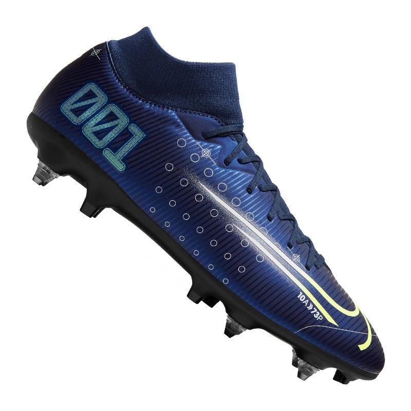 Nike Mercurial Superfly VII DS Academy SG-Pro Blau F401 - blau
