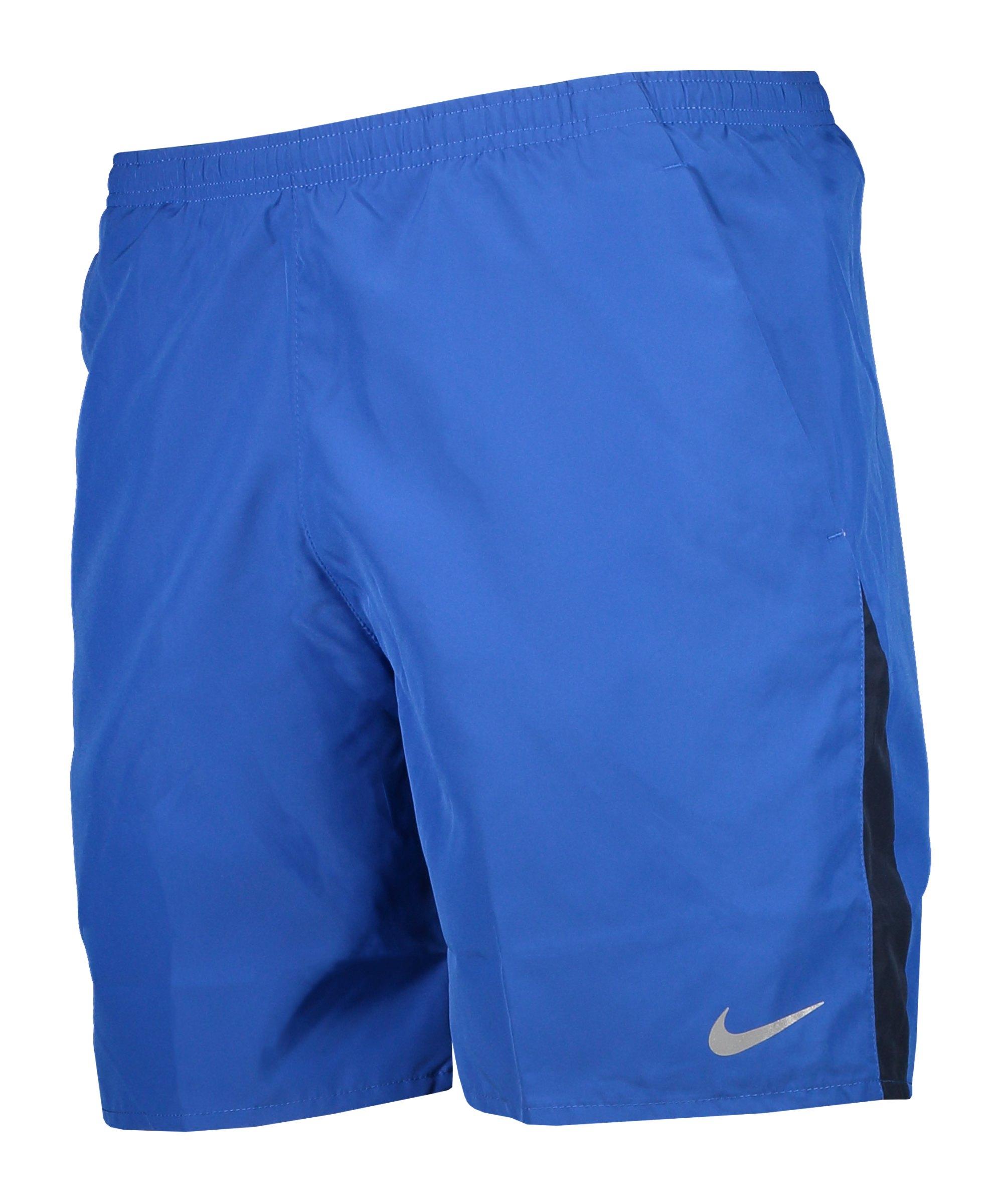 Nike Run 7BF Short Running Blau F480 - blau