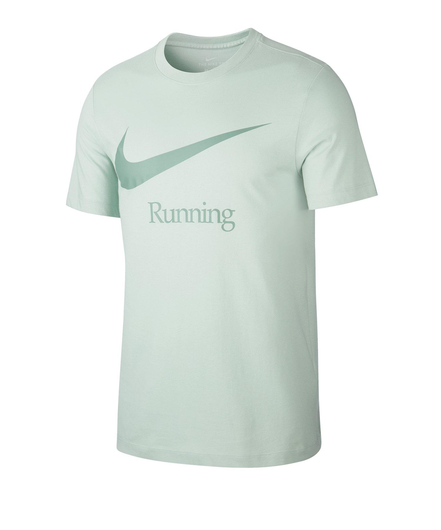 Nike Dri-FIT Tee T-Shirt Running Blau F321 - blau