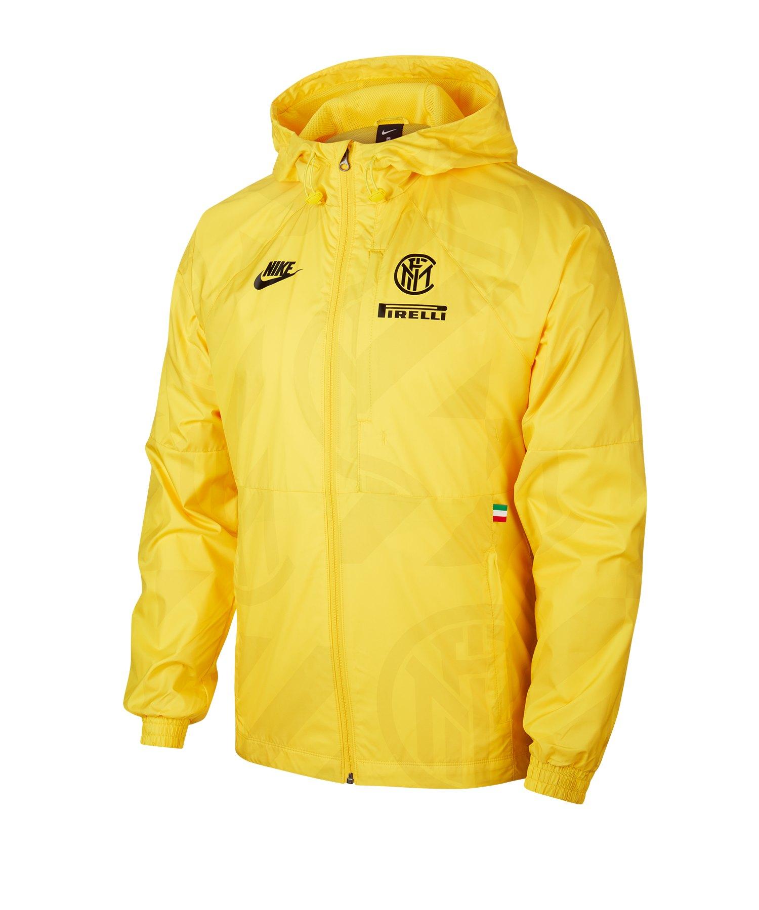 Nike Inter Mailand Pirelli Jacke Gelb F719 - gelb