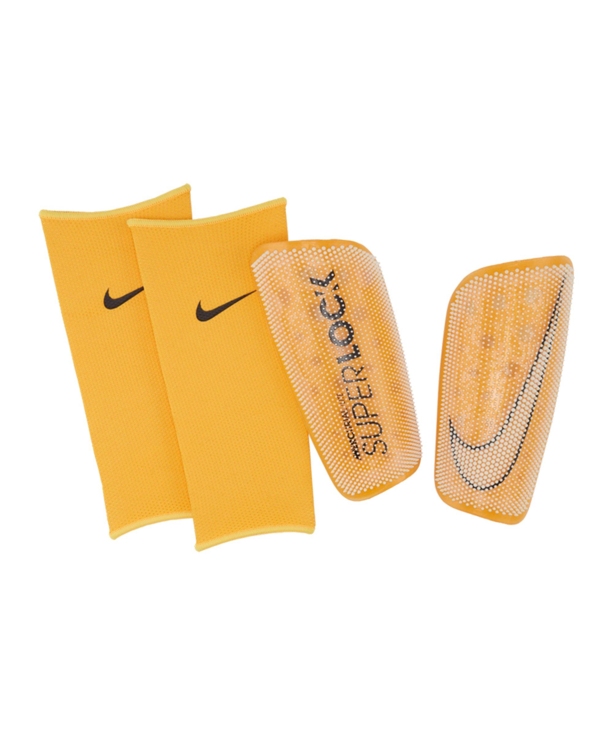 Nike Mercurial FlyLite Superlock Schoner Weiss Gelb F133 - orange