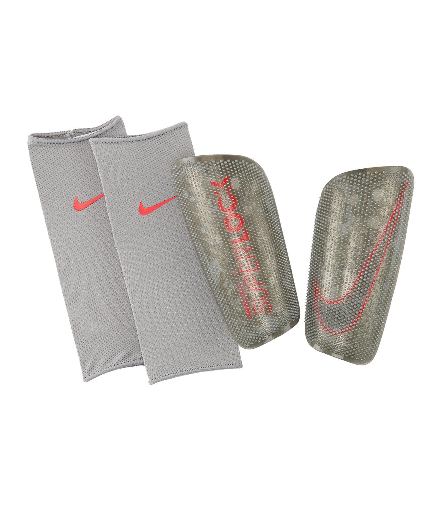 Nike Mercurial Lite SuperLock Schoner Silber F095 - silber