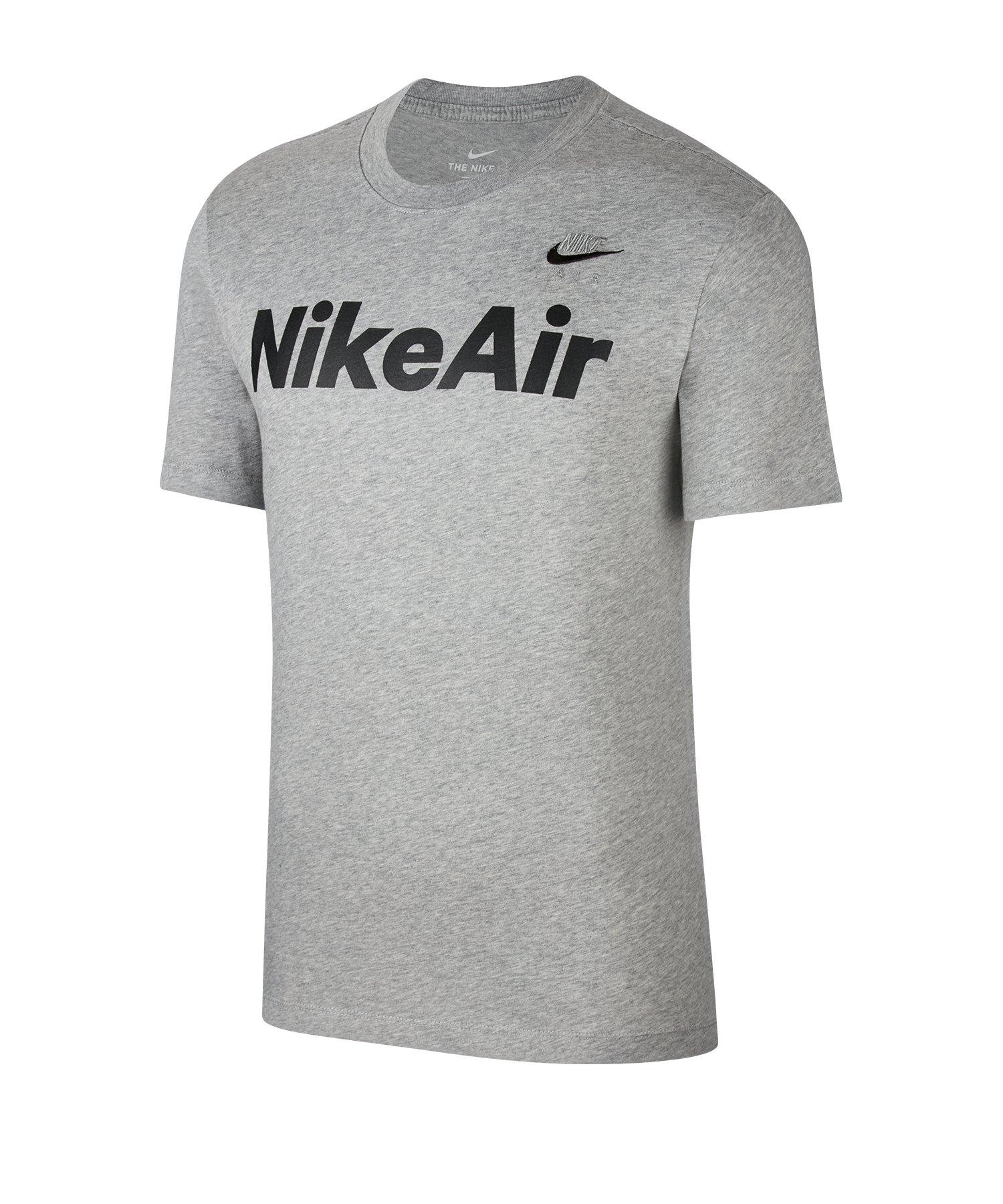 Nike Air T-Shirt Grau F063 - grau