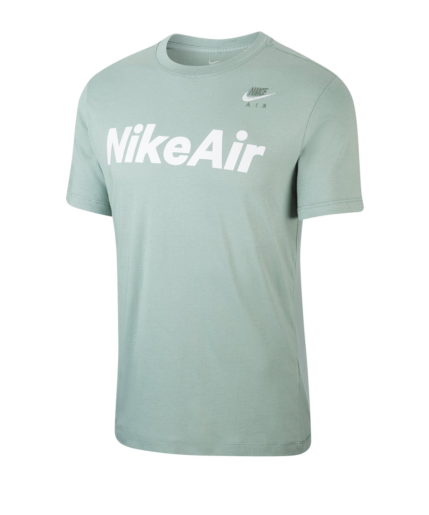 Nike Air T-Shirt Silber F352 - silber