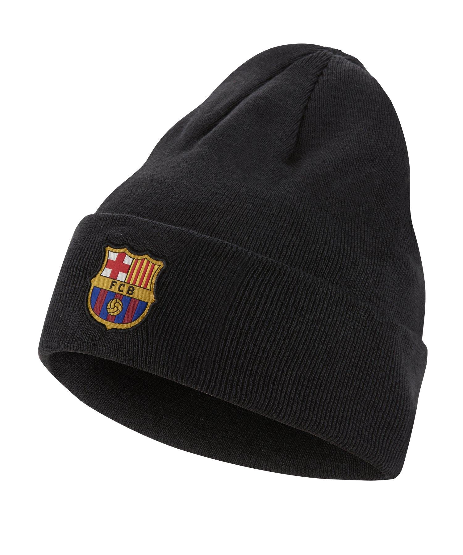 Nike FC Barcelona Dri-FIT Beanie Mütze Grau F065 - grau