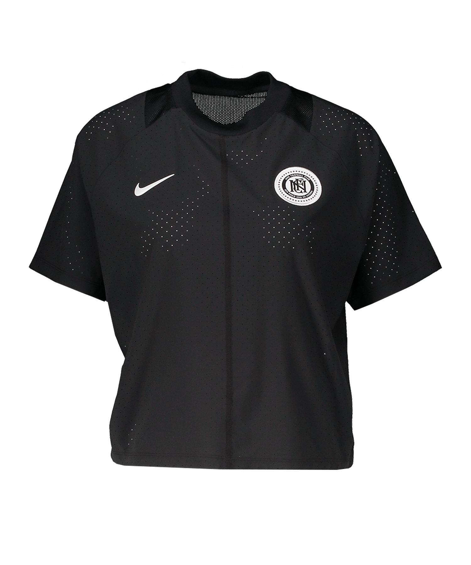 Nike F.C. T-Shirt Jersey Damen Schwarz F010 - schwarz