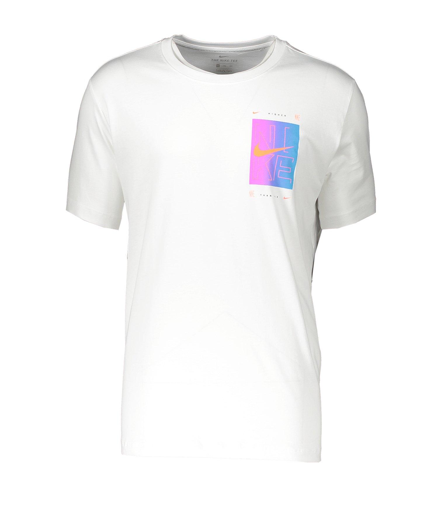 Nike SNKR CLTR T-Shirt Weiss F100 - weiss