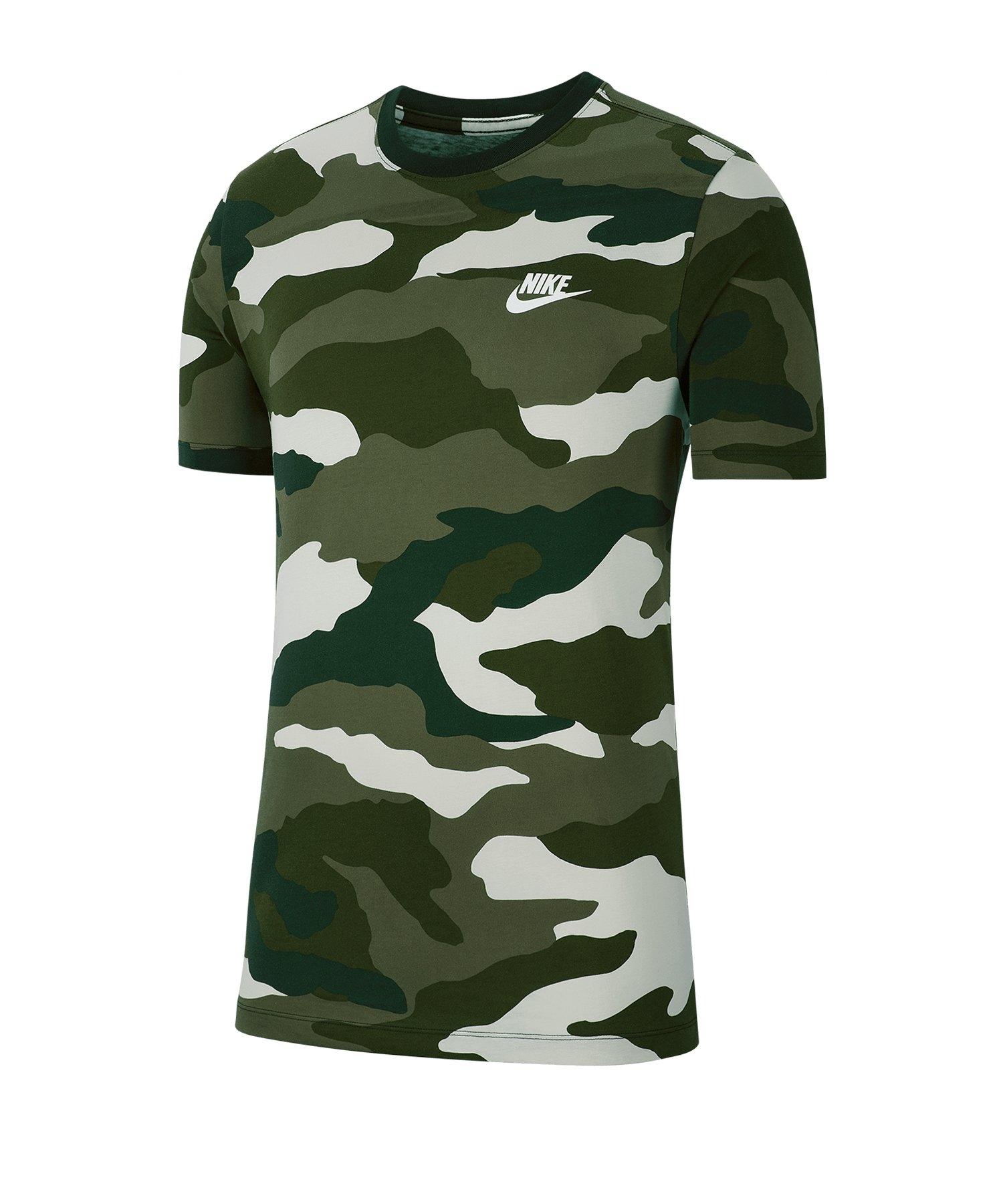 Nike AOP Camo Tee T-Shirt Beige F072 - beige