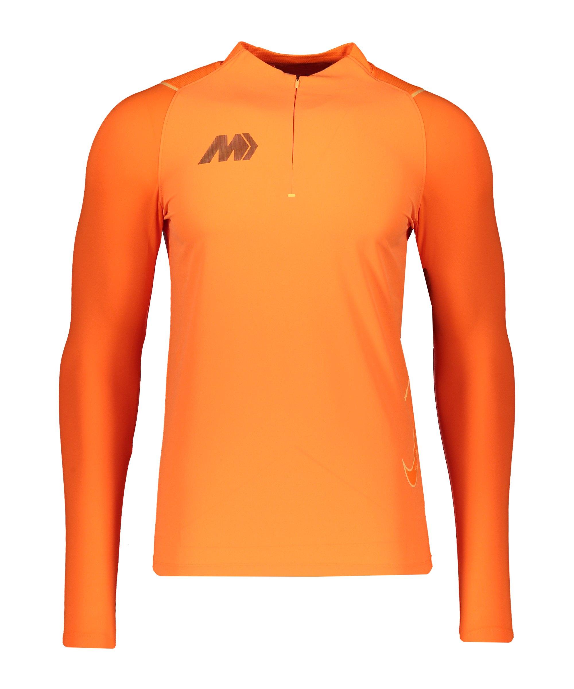 Nike Mercurial Woven Strike Drill Top Orange F803 - orange