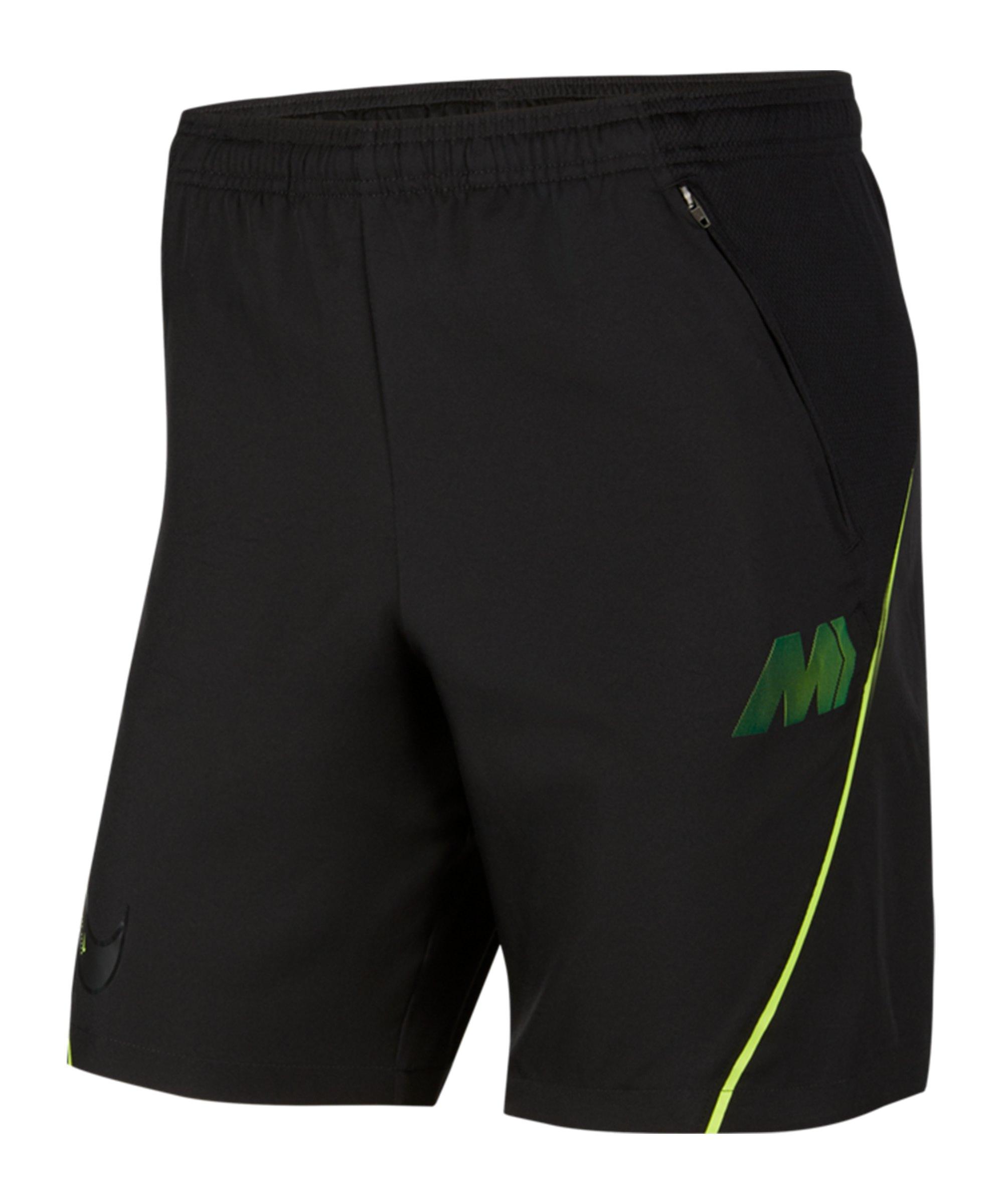 Nike Mercurial Woven Strike Short Schwarz F010 - schwarz