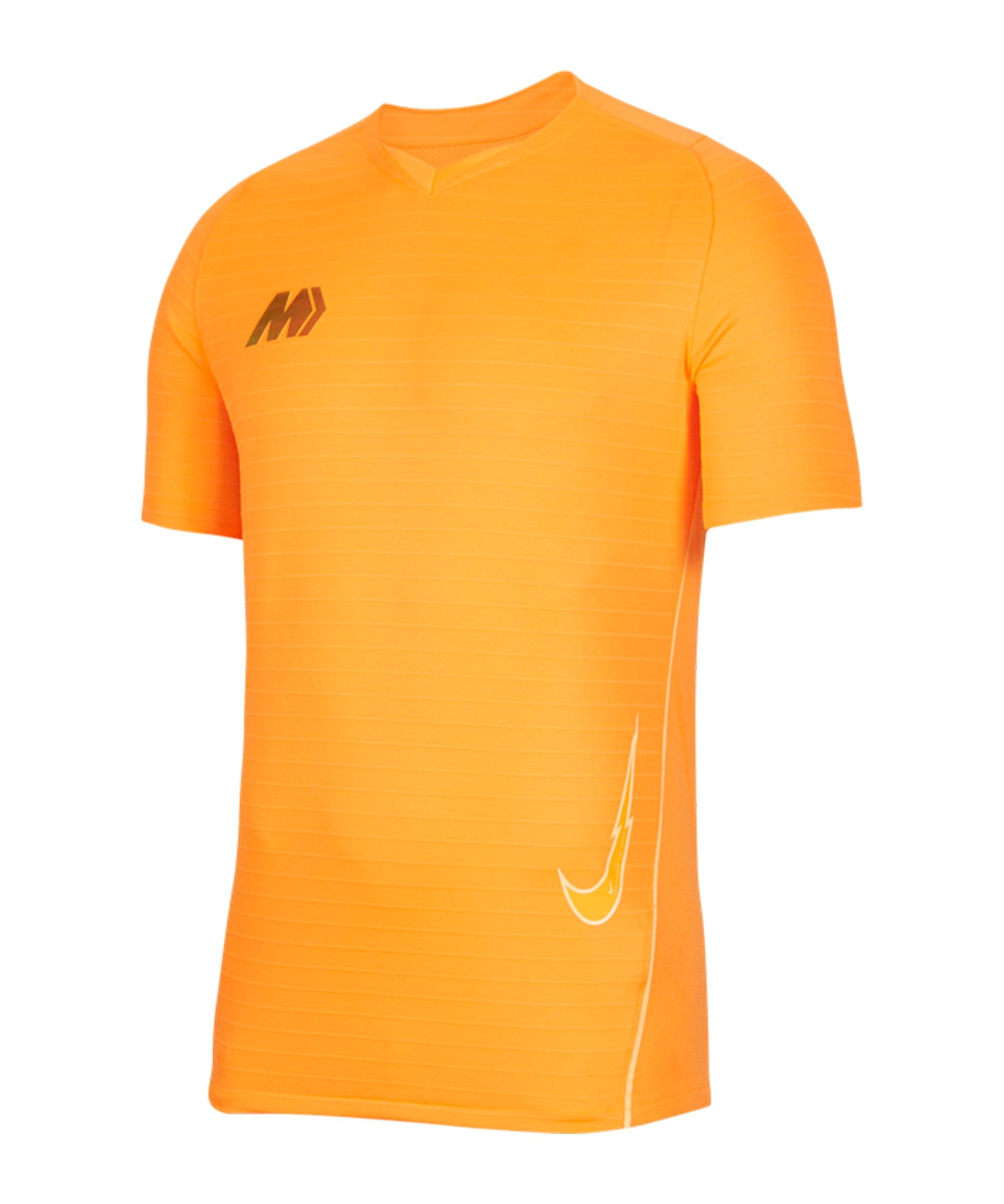 Nike Mercurial Strike T-Shirt Orange F803 - orange