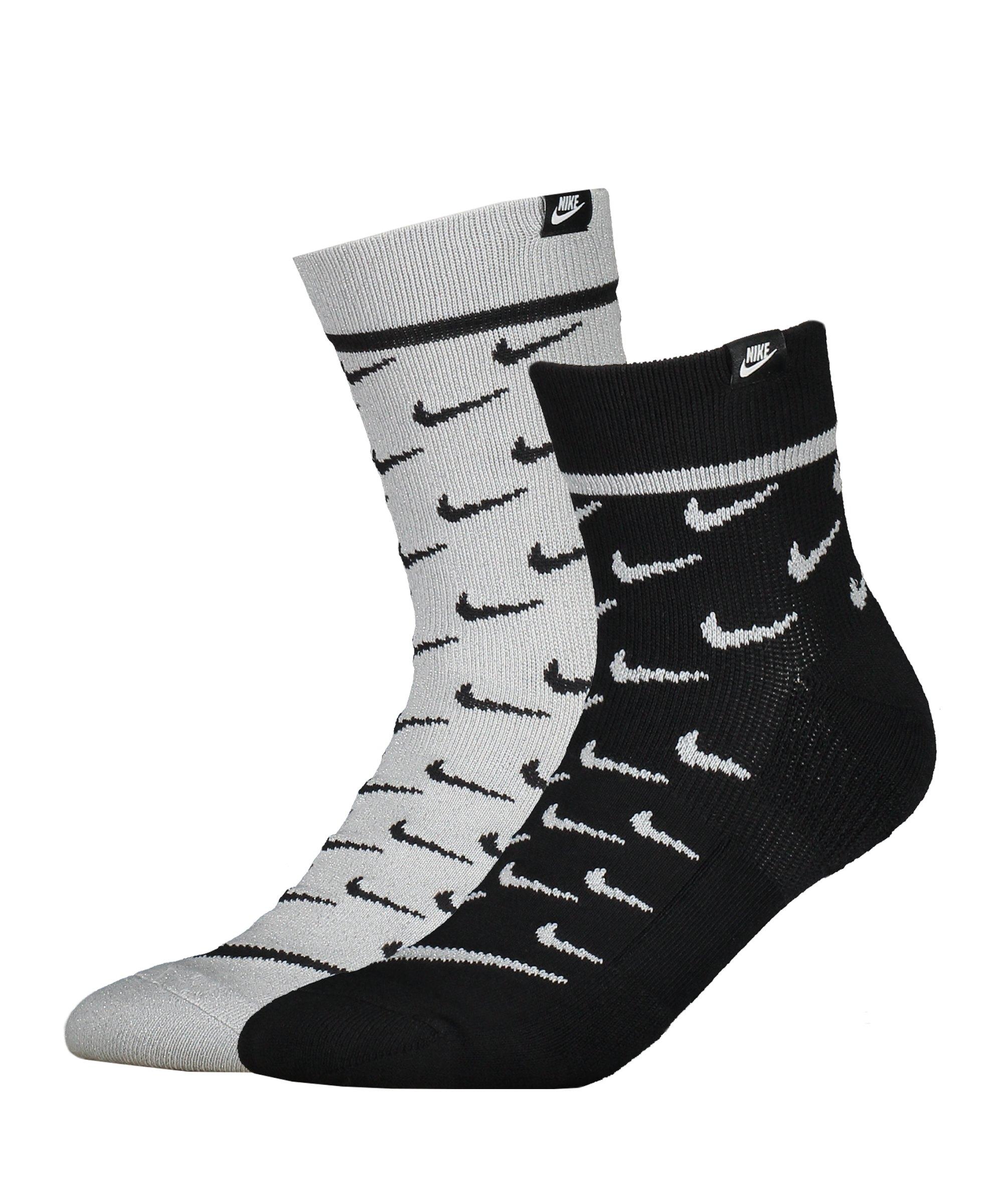 Nike Crew Sneaker Socken 2er Pack F906 - weiss