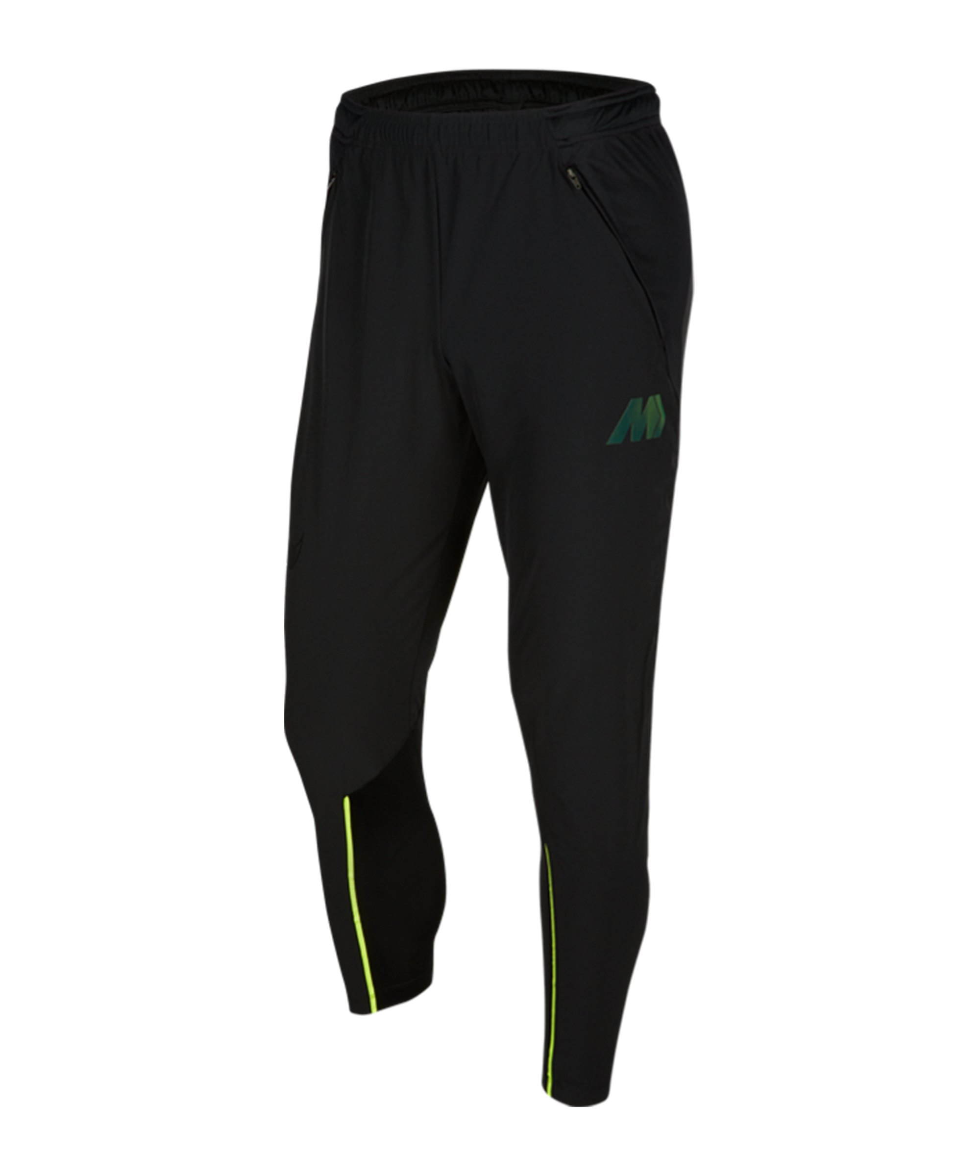 Nike Mercurial Woven Strike Hose Schwarz F010 - schwarz