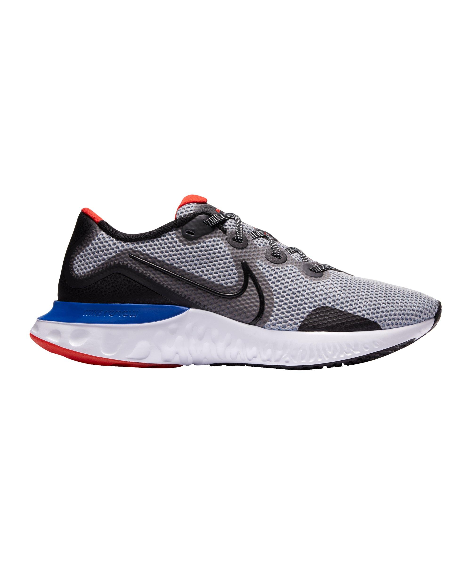 Nike Renew Run Running Grau Schwarz F009 - grau