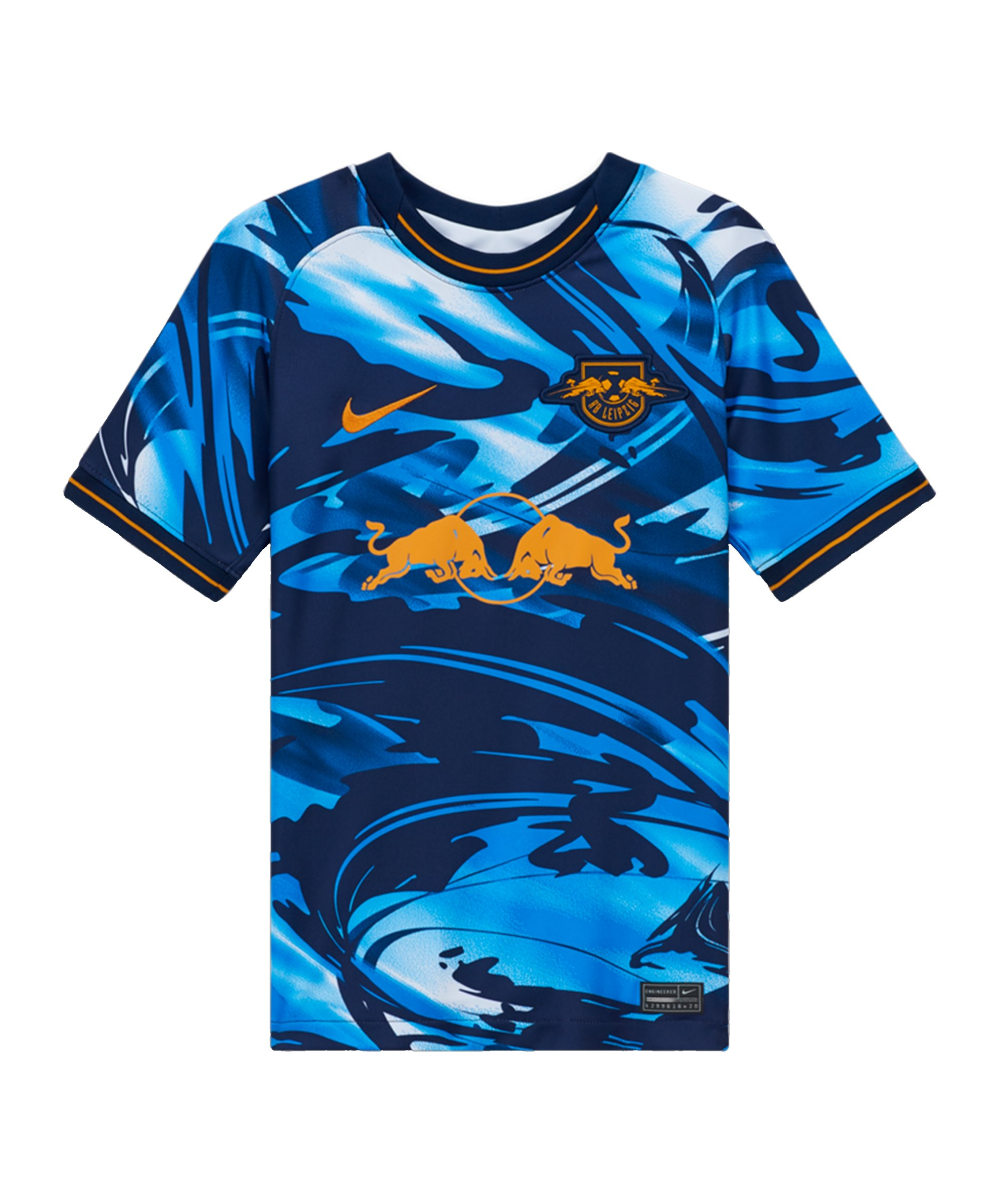 Nike RB Leipzig Trikot UCL 2020/2021 Blau F411 - blau