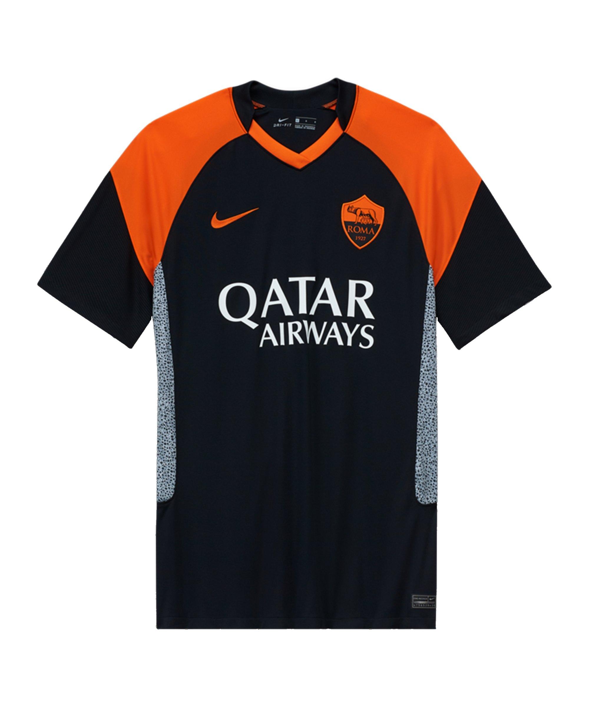 Nike AS Rom Trikot UCL 2020/2021 Schwarz F011 - schwarz