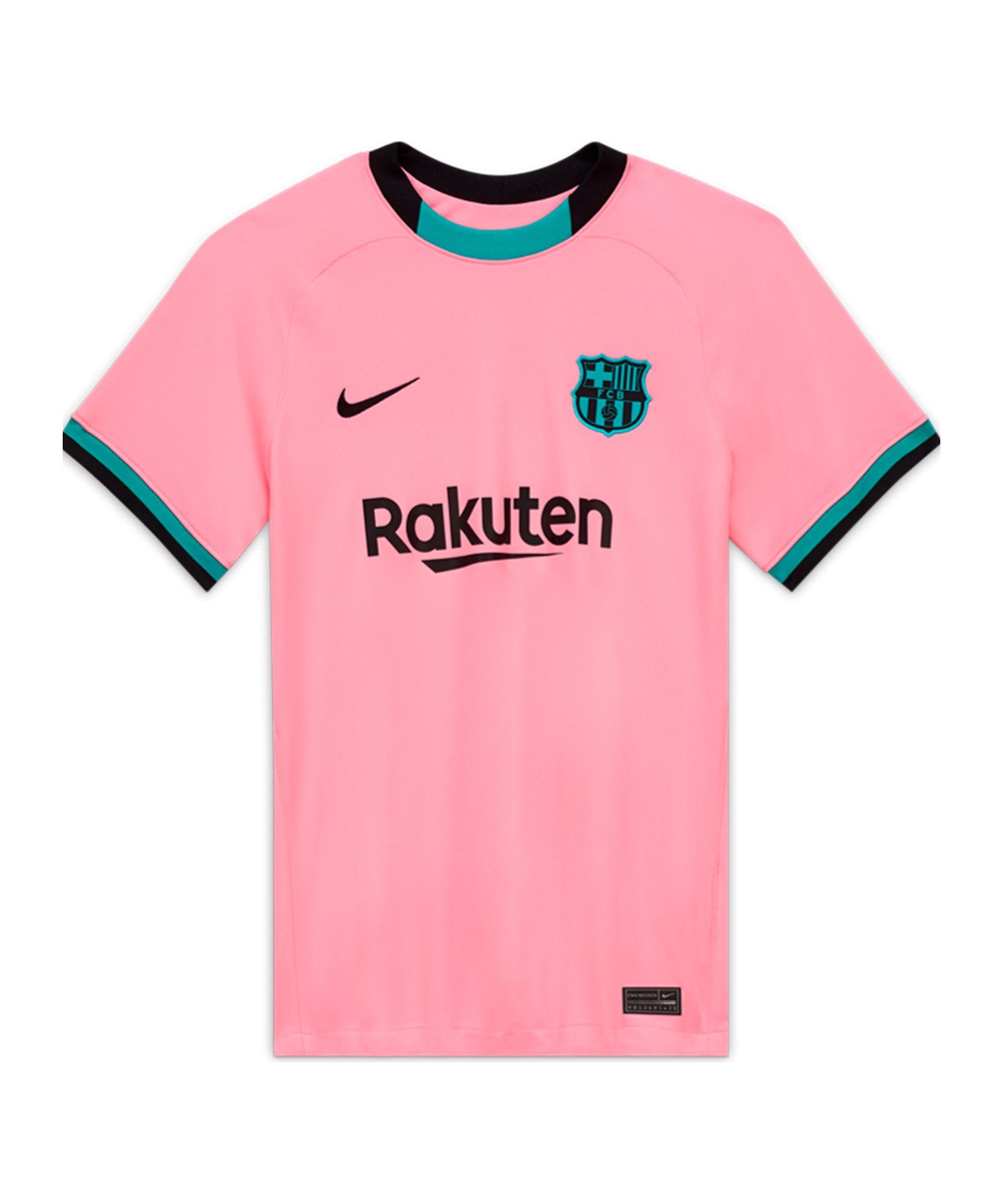 Nike FC Barcelona Trikot UCL 2020/2021 Damen Pink F654 - pink