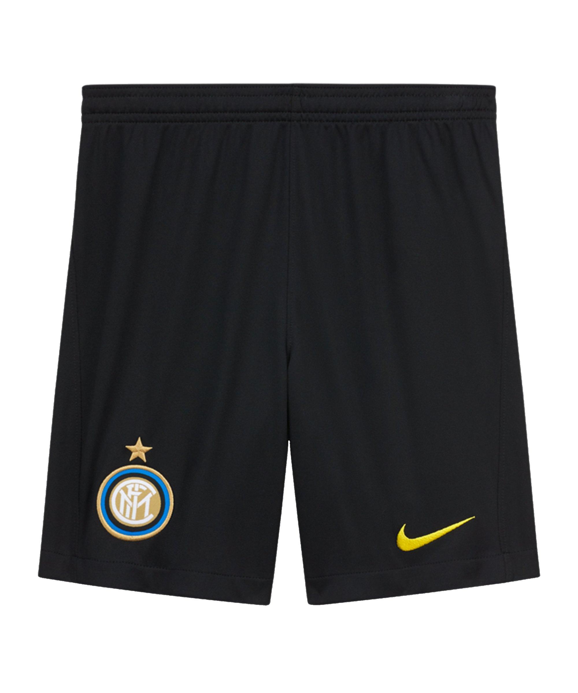 Nike Inter Mailand Short UCL 2020/2021 Kids Schwarz F010 - schwarz