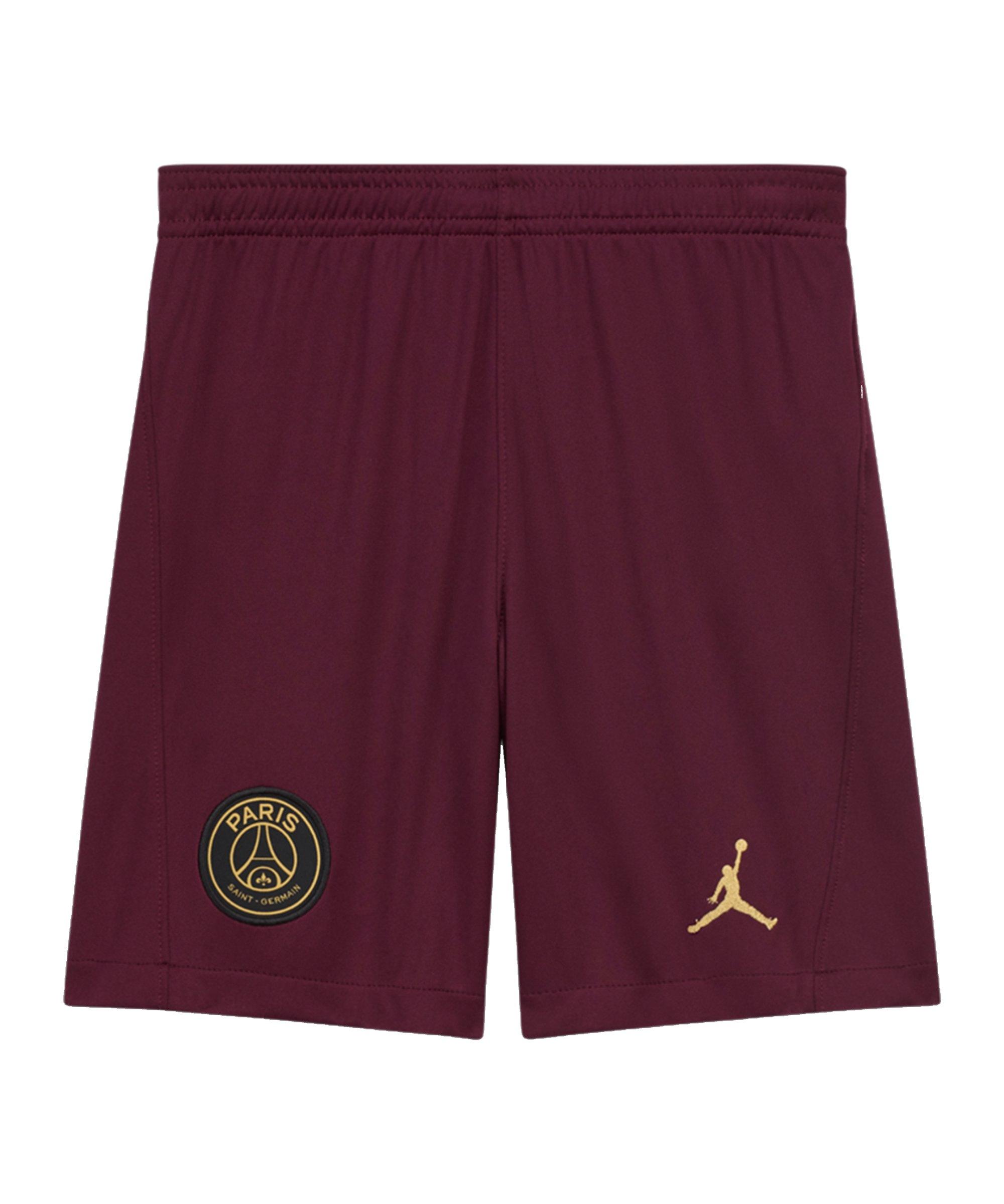 Jordan Paris St. Germain Short UCL 2020/2021 Kids F612 - rot