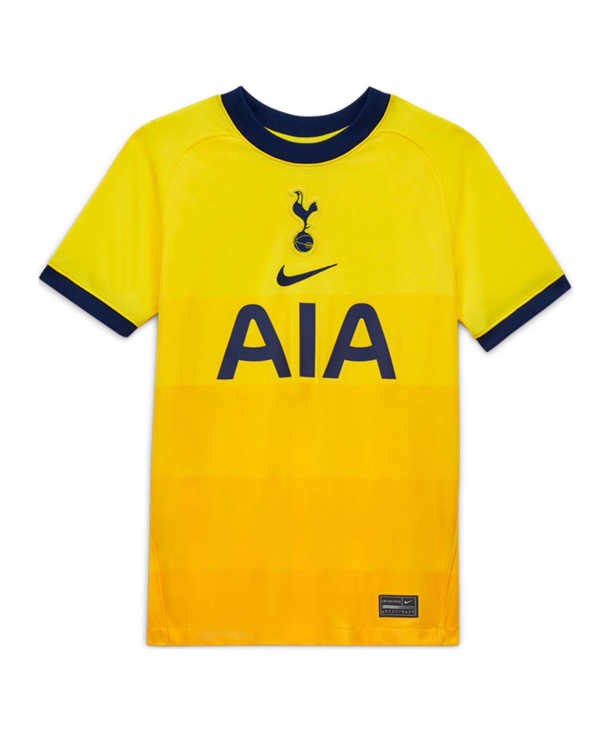 Nike Tottenham Hotspur Trikot 3rd 2020/2021 Kids Gelb F720 - gelb