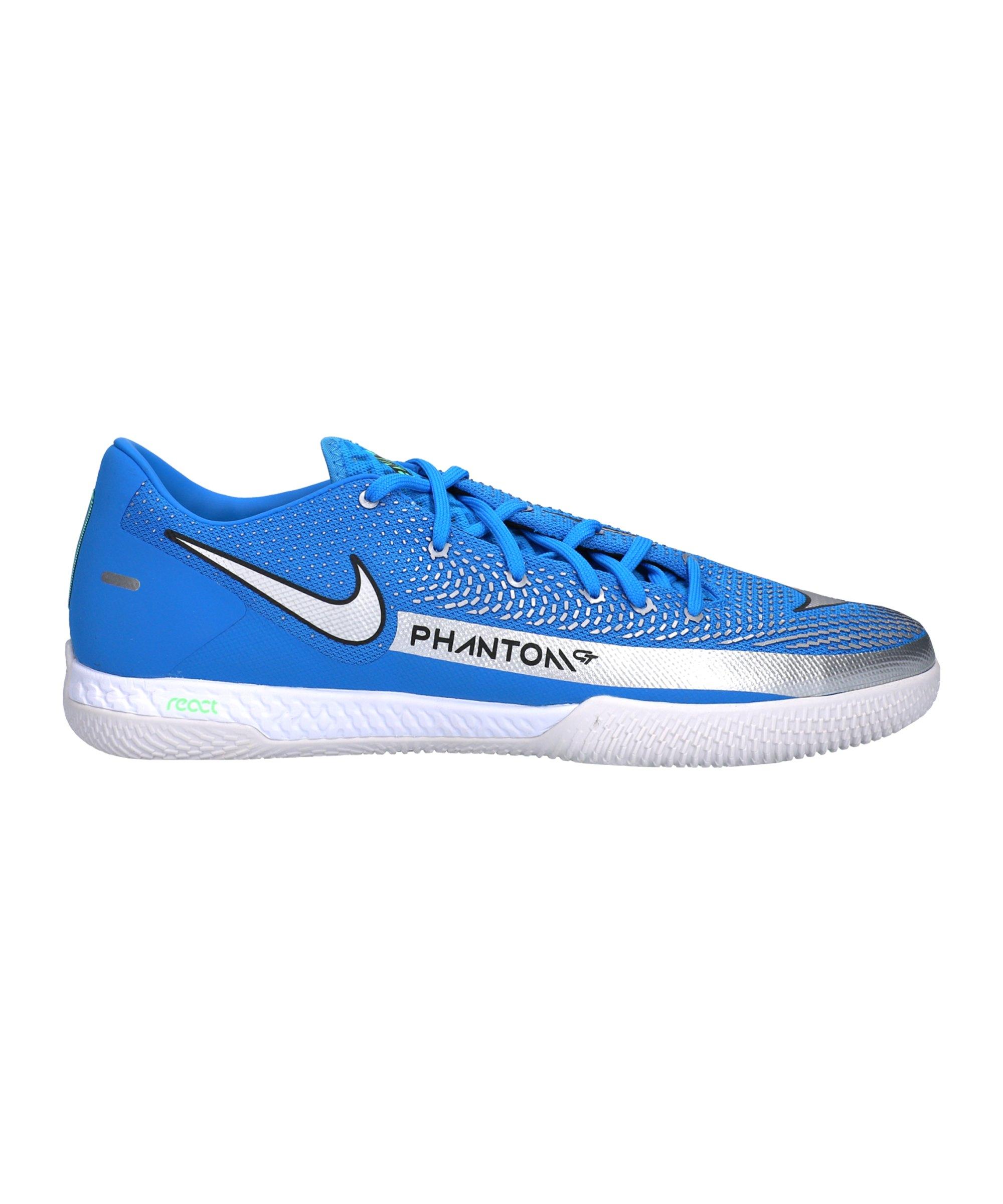 Nike React Phantom GT Spectrum Pro IC Blau F400 - blau