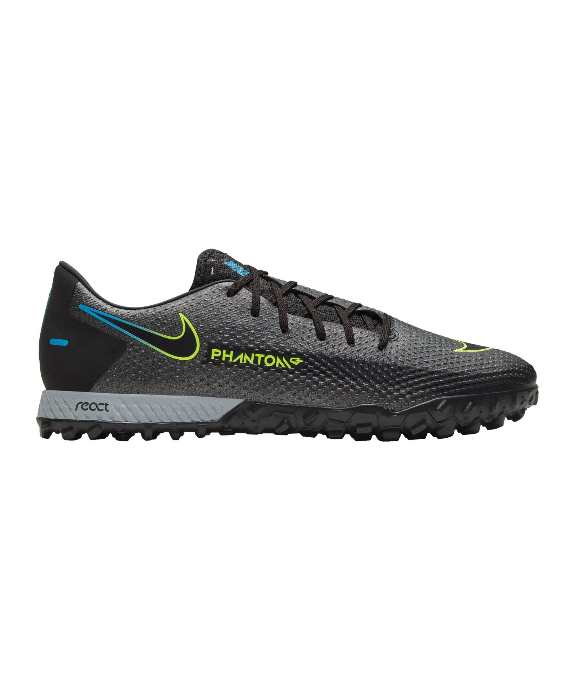 Nike React Phantom GT Black X Prism Pro TF Schwarz F090 - schwarz