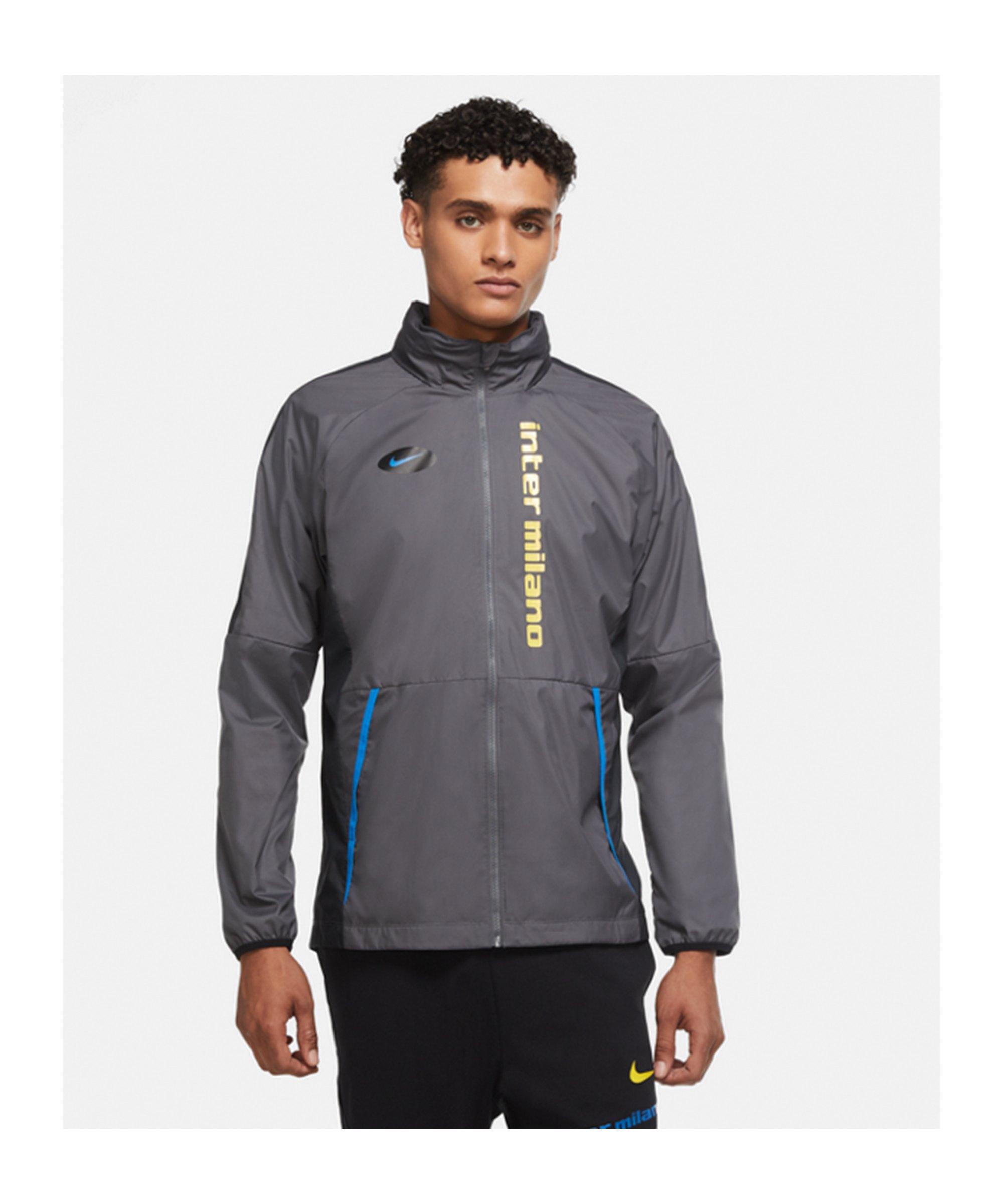 Nike Inter Mailand AWF Lite Jacke CL Grau F021 - grau