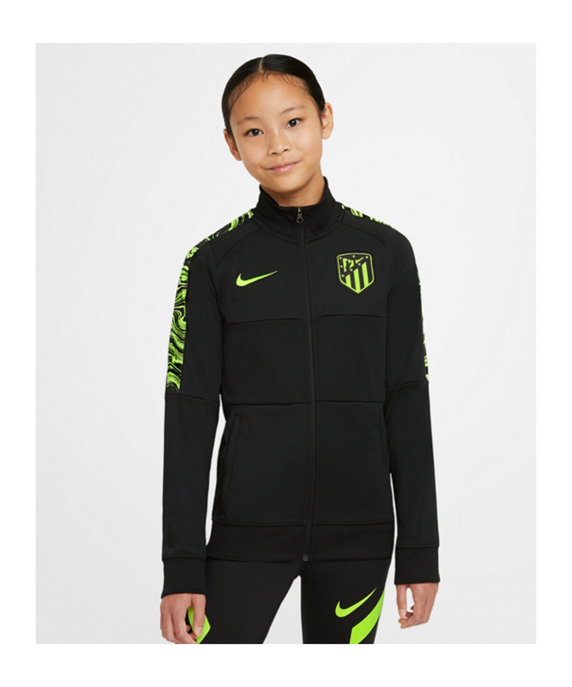 Nike Atletico Madrid I96 Jacke CL Kids F010 - schwarz