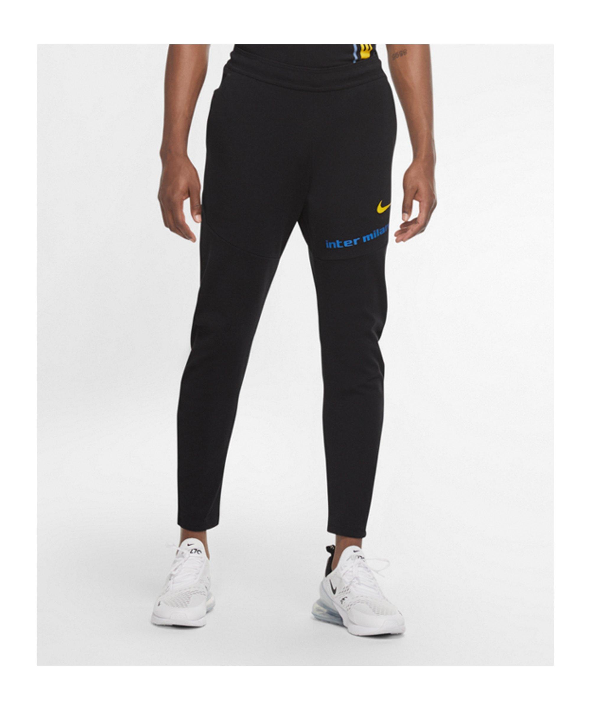 Nike Inter Mailand Tech Pack Trainingshose CL F010 - schwarz